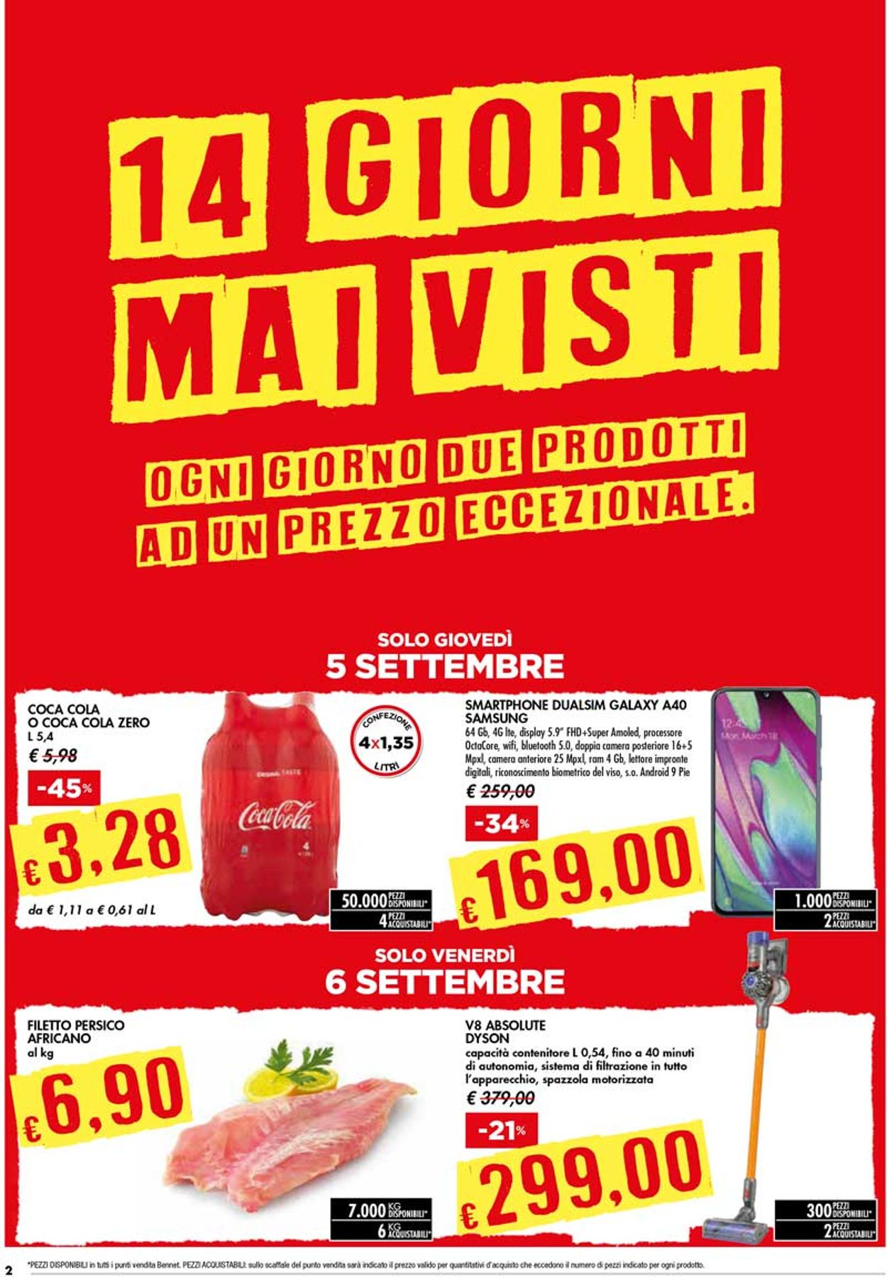 Volantino bennet - Offerte 05/09-18/09/2019 (Pagina 2)