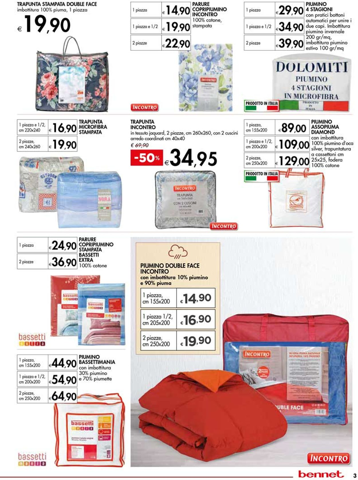 Volantino bennet - Offerte 19/09-16/10/2019 (Pagina 3)