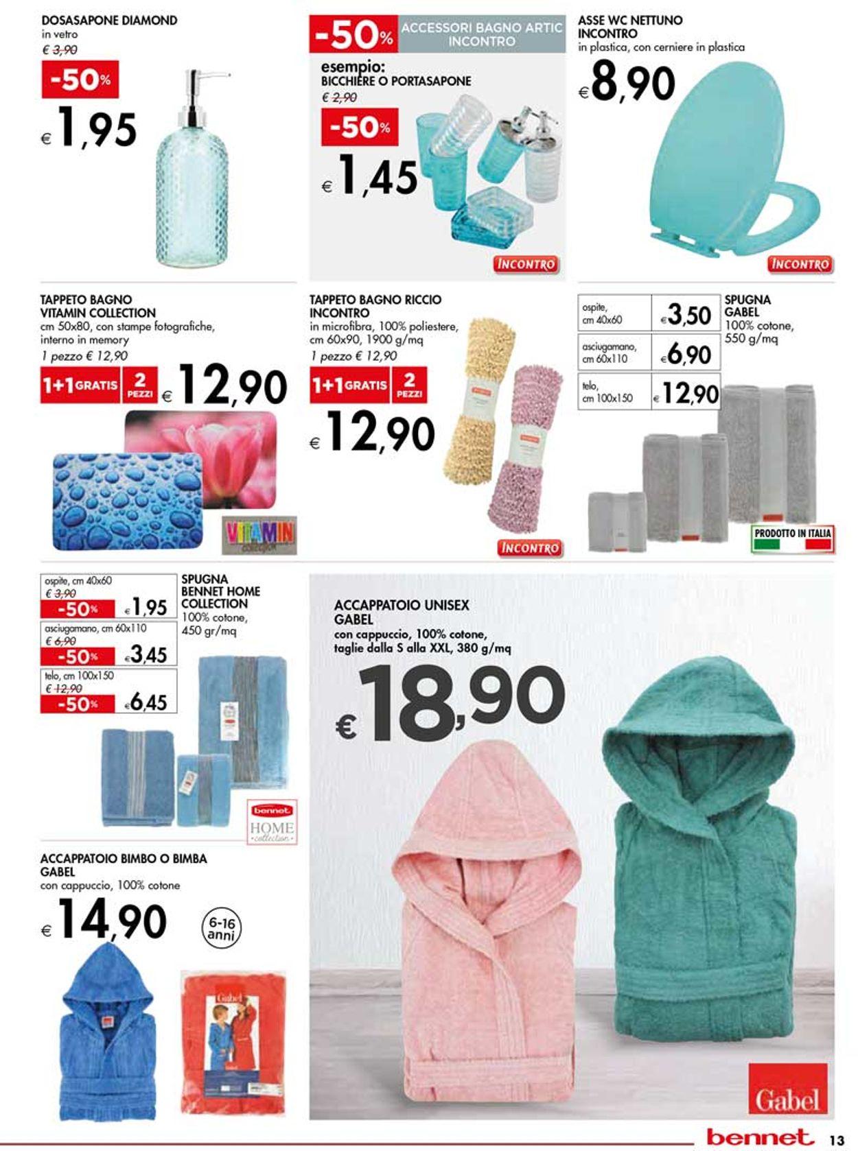 Volantino bennet - Offerte 19/09-16/10/2019 (Pagina 13)