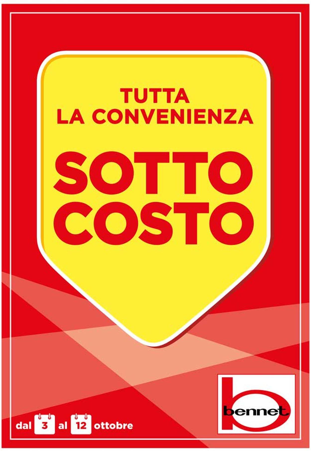 Volantino bennet - Offerte 03/10-12/10/2019