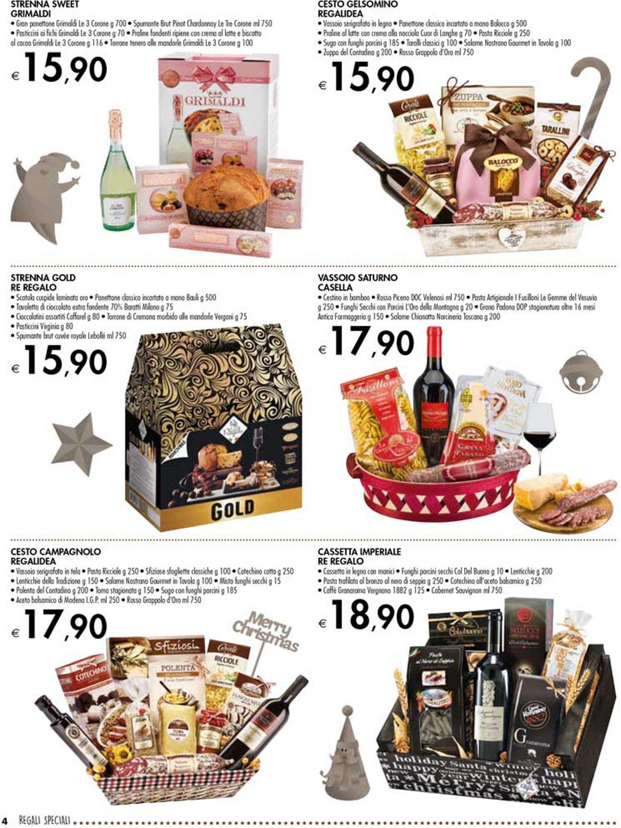 Volantino Il volantino natalizio di bennet - Offerte 25/11-24/12/2019 (Pagina 4)