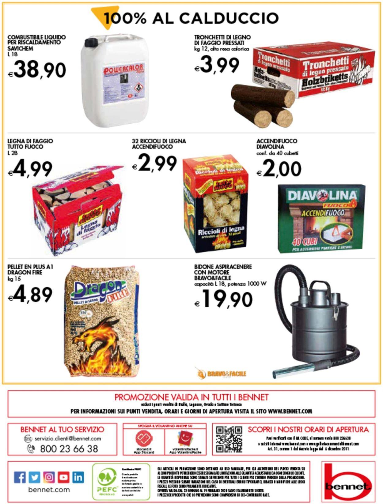 Volantino bennet - Offerte 23/01-19/02/2020 (Pagina 16)
