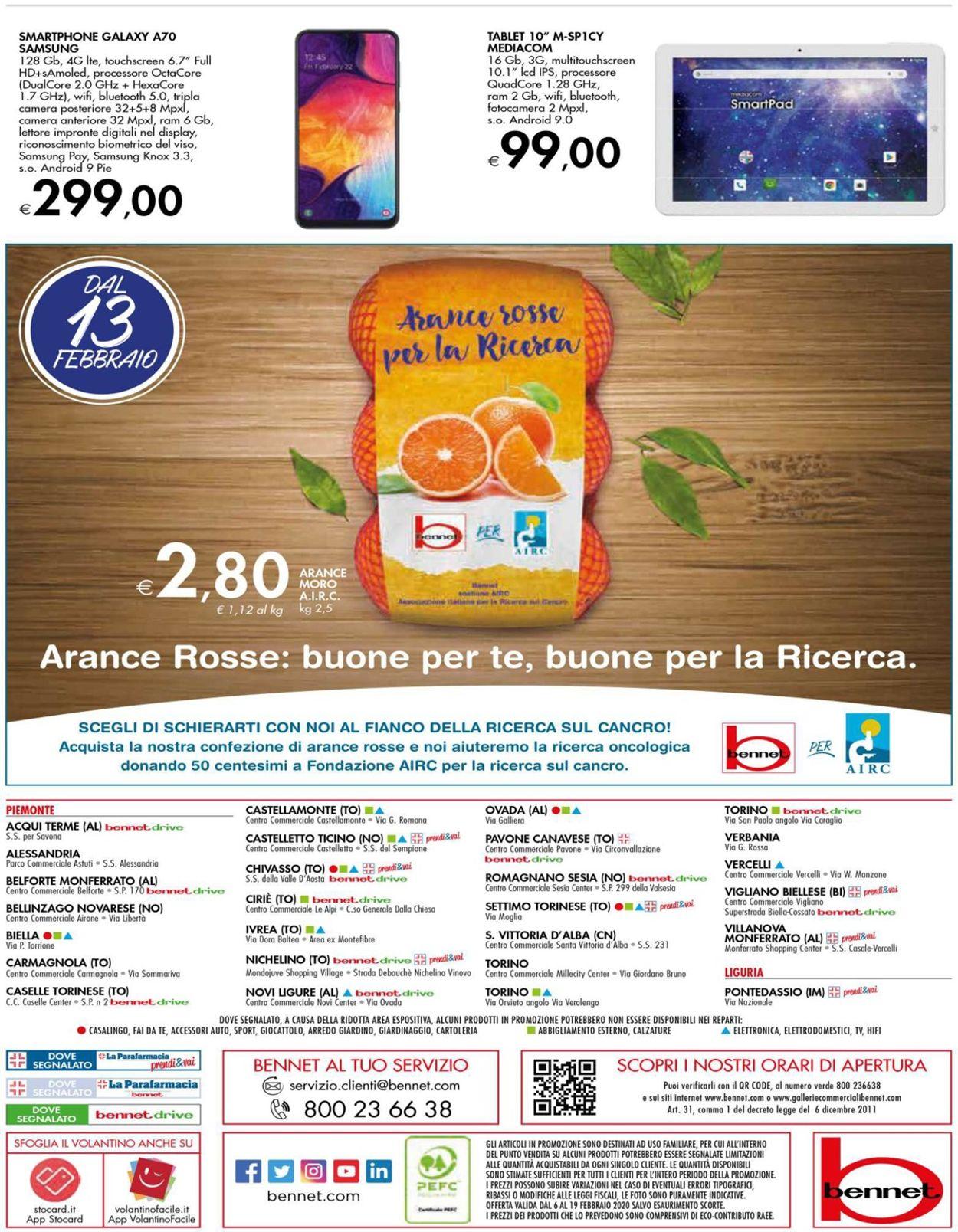 Volantino bennet - Offerte 06/02-19/02/2020 (Pagina 40)