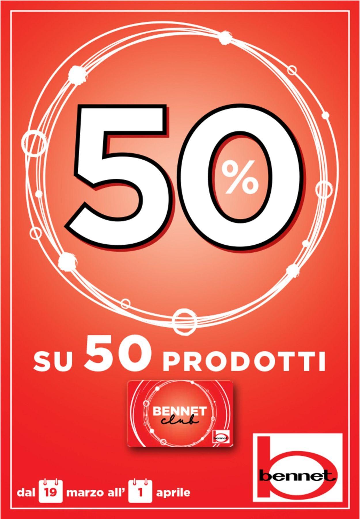 Volantino bennet - Offerte 19/03-01/04/2020