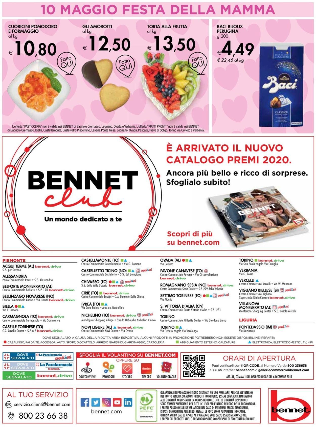 Volantino bennet - Offerte 30/04-13/05/2020 (Pagina 32)