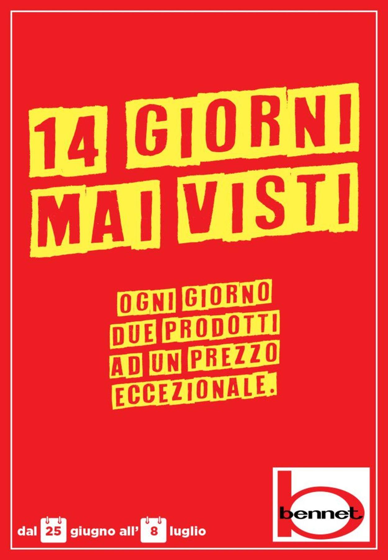 Volantino bennet - Offerte 25/06-08/07/2020