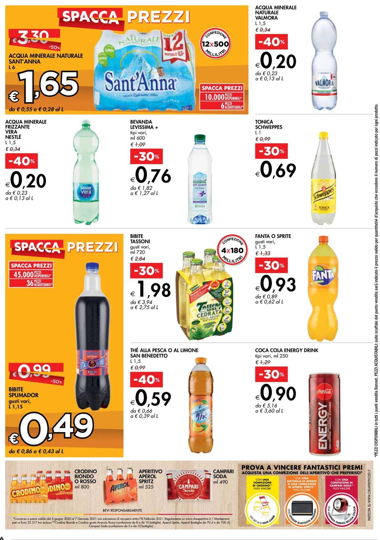 Volantino bennet - Offerte 23/07-05/08/2020 (Pagina 6)