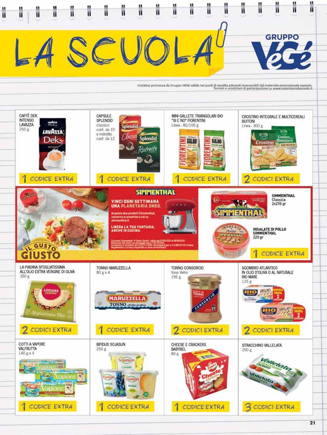Volantino bennet - Offerte 27/08-09/09/2020 (Pagina 21)