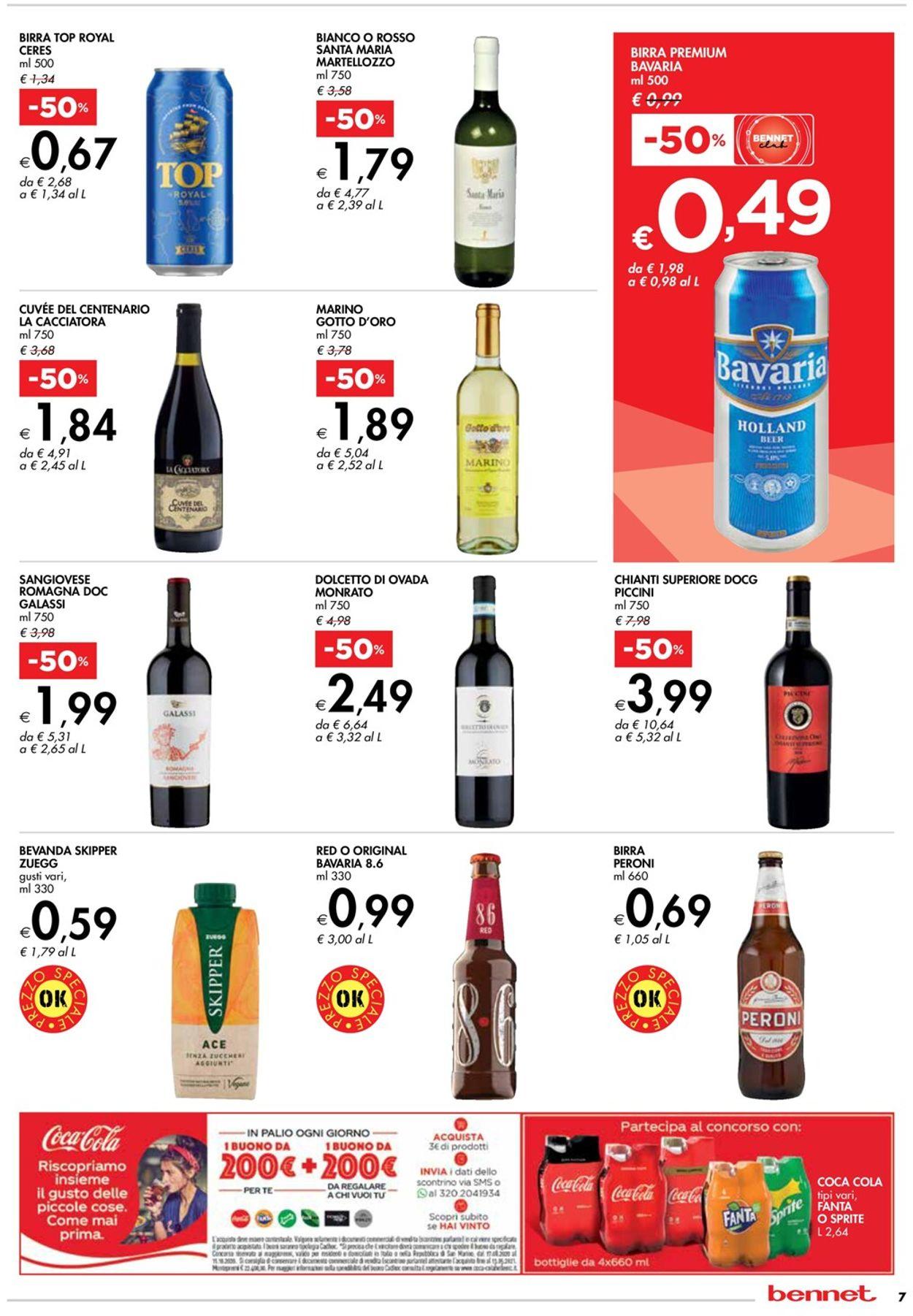 Volantino bennet - Offerte 17/09-30/09/2020 (Pagina 7)