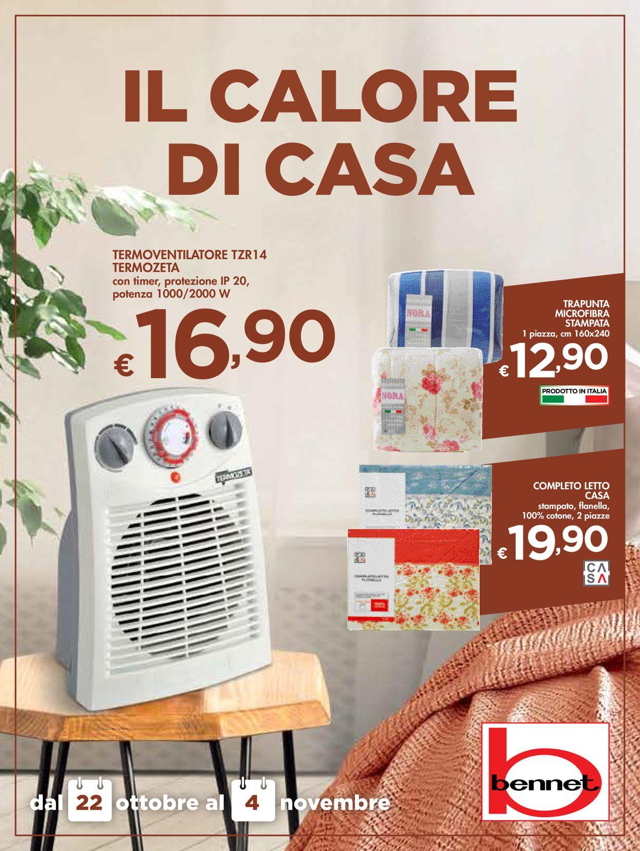 Volantino bennet - Offerte 22/10-04/11/2020