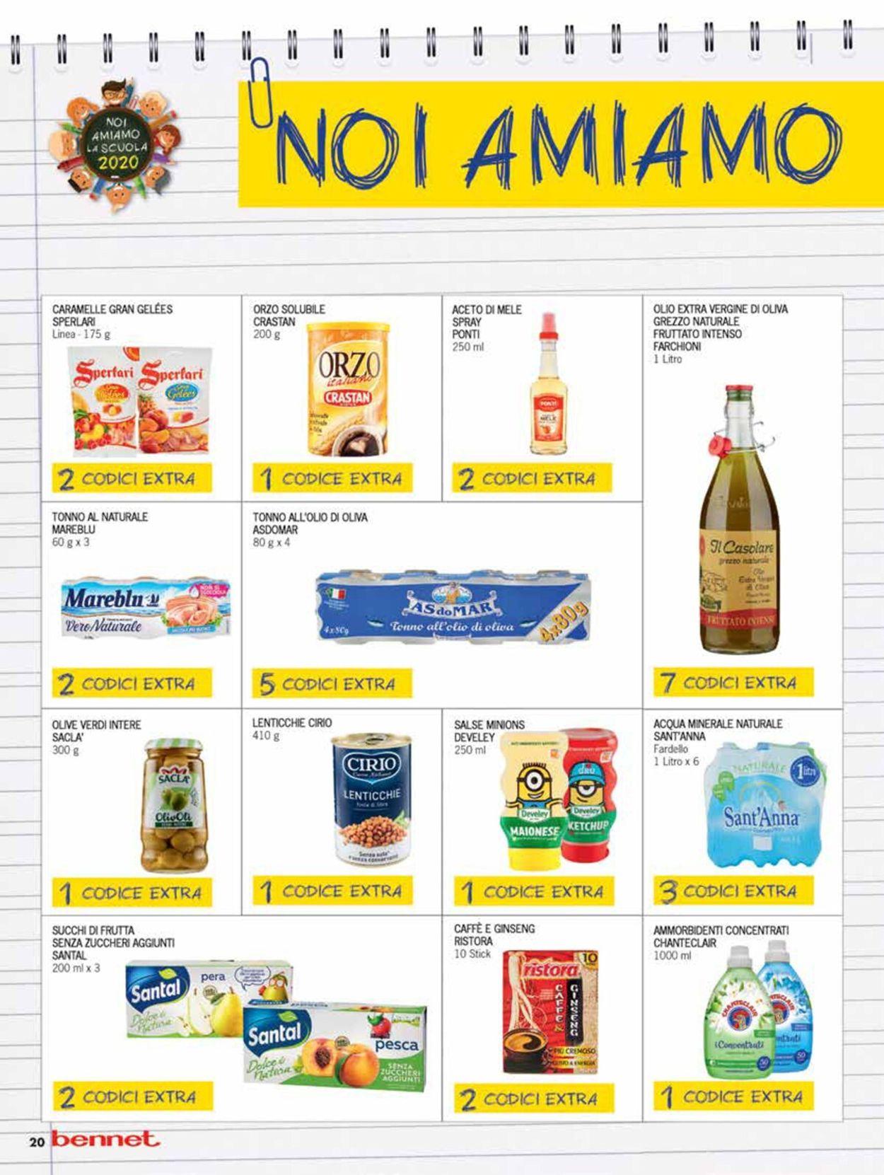 Volantino bennet - Offerte 05/11-18/11/2020 (Pagina 20)