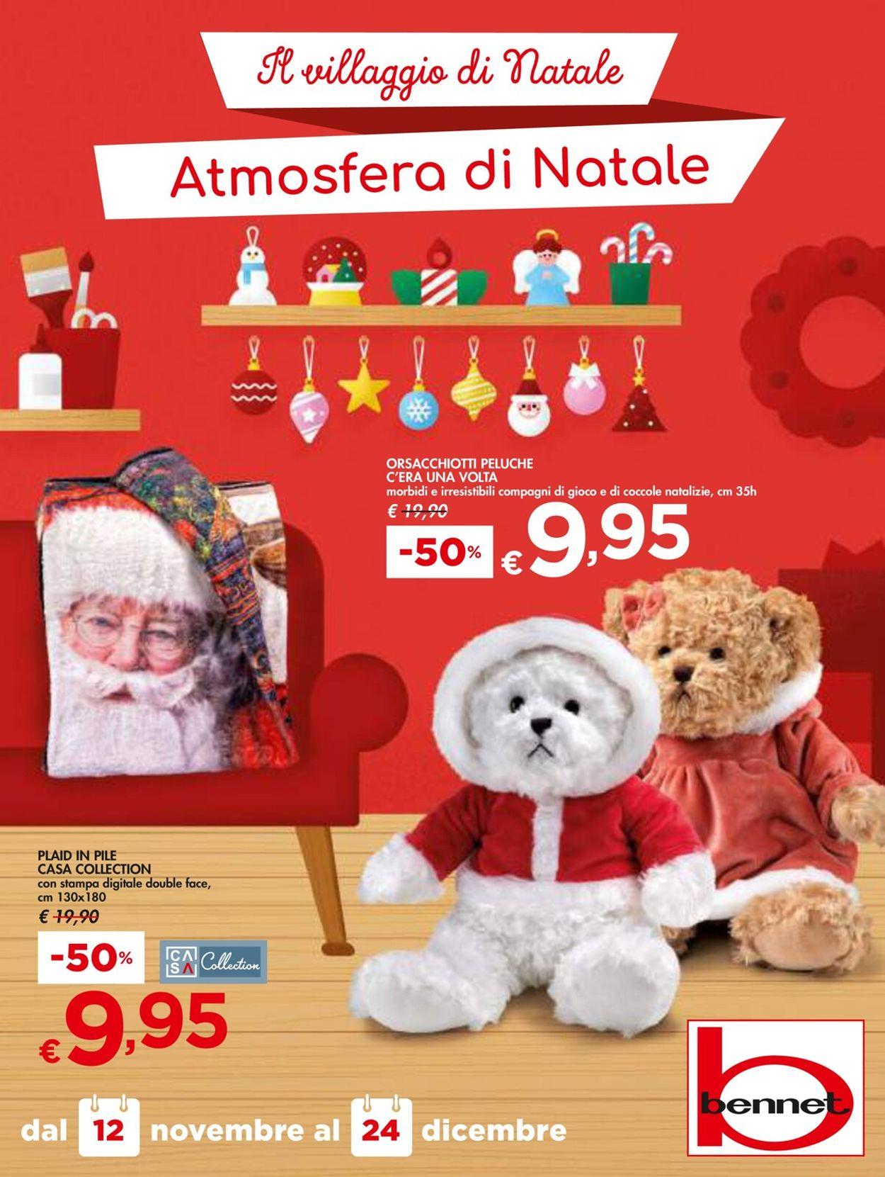 Volantino bennet - Natale 2020 - Offerte 12/11-24/12/2020
