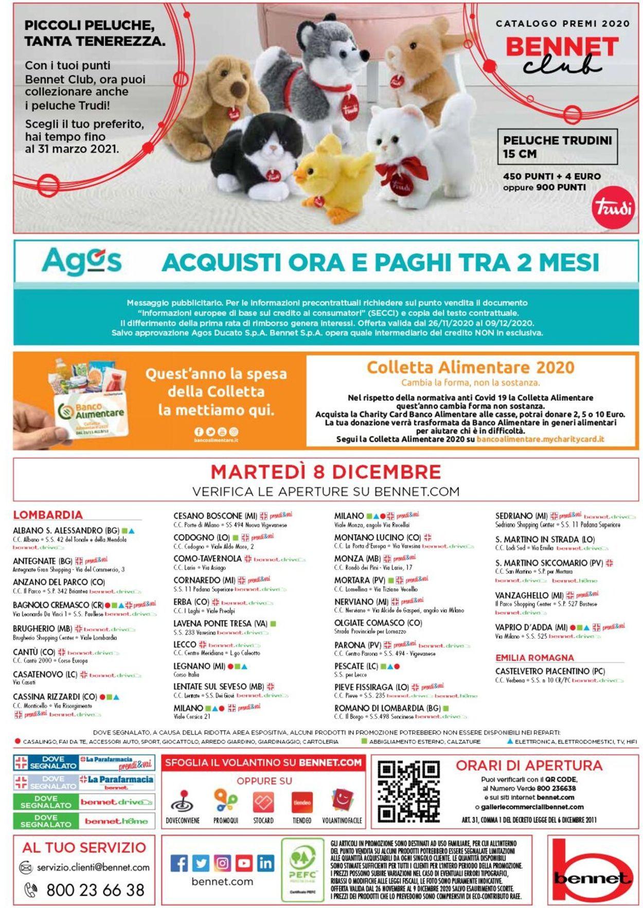 Volantino bennet - Black Friday 2020 - Offerte 26/11-09/12/2020 (Pagina 32)