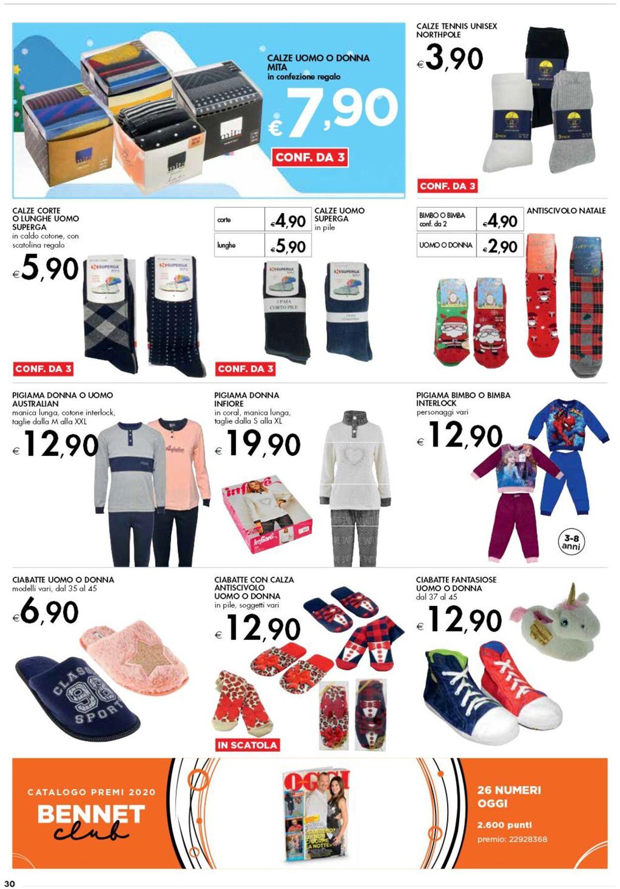 Volantino bennet - Natale 2020 - Offerte 03/12-16/12/2020 (Pagina 30)