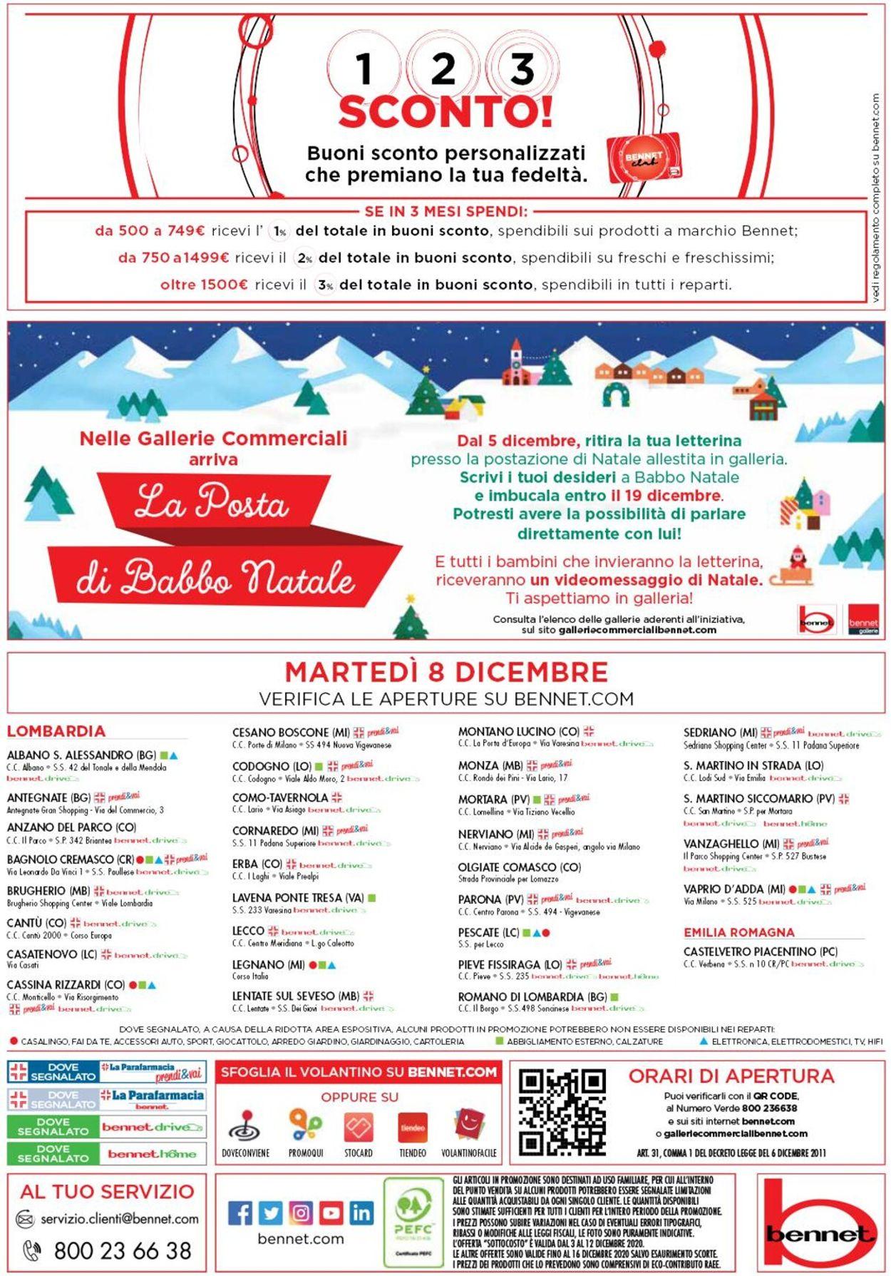 Volantino bennet - Natale 2020 - Offerte 03/12-16/12/2020 (Pagina 40)
