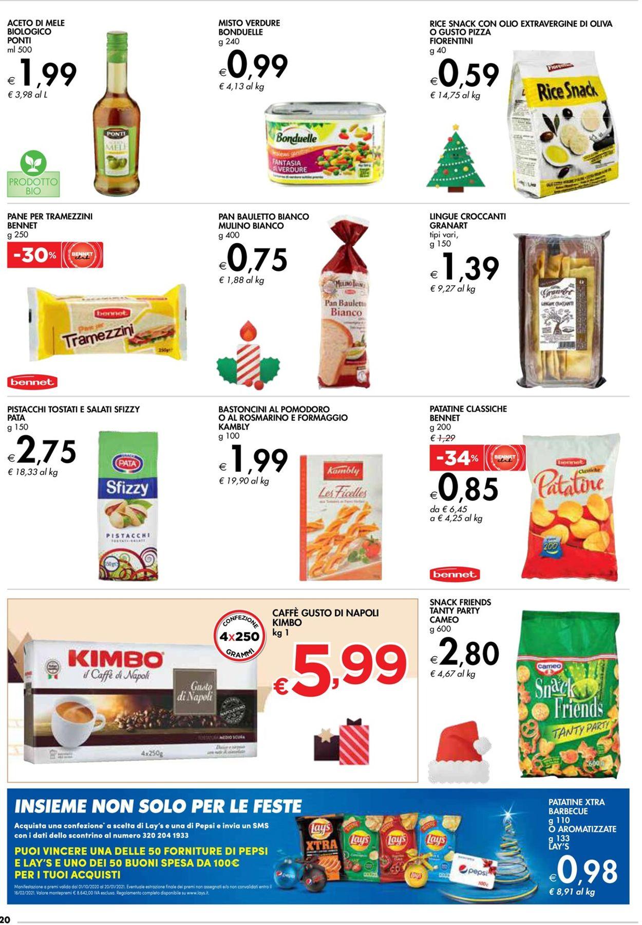 Volantino bennet - Natale 2020 - Offerte 10/12-24/12/2020 (Pagina 20)