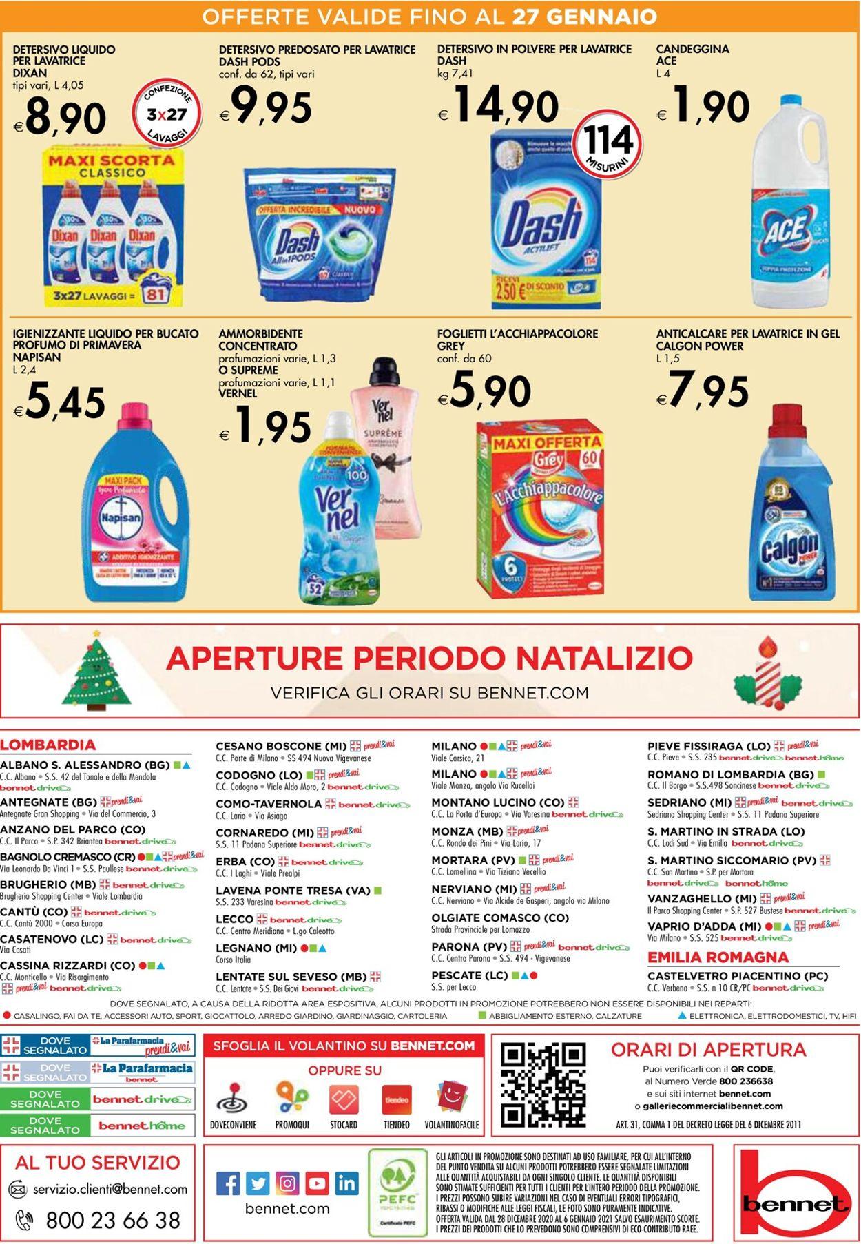 Volantino bennet -  Capodanno 2021 - Offerte 28/12-06/01/2021 (Pagina 40)