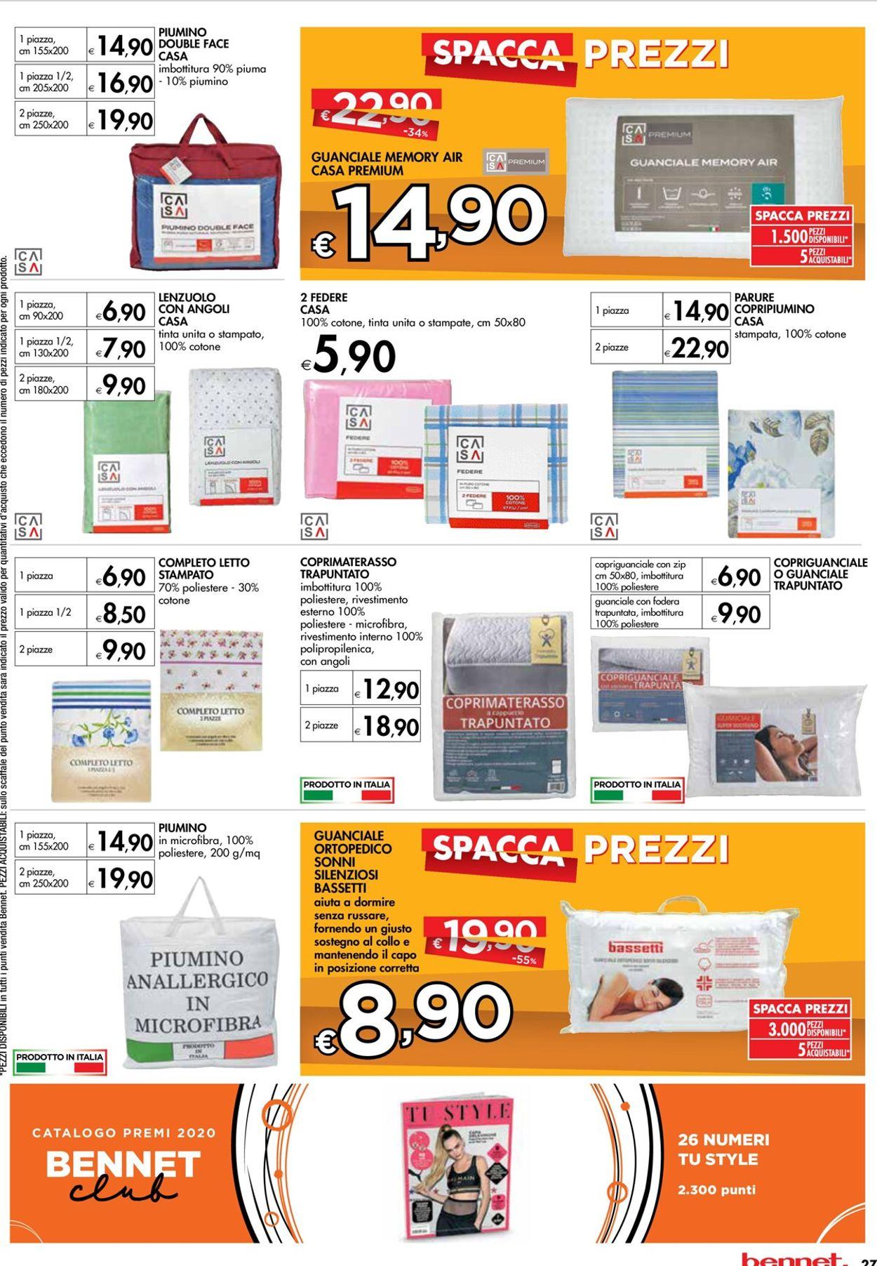 Volantino bennet - Offerte 15/02-28/02/2021 (Pagina 27)