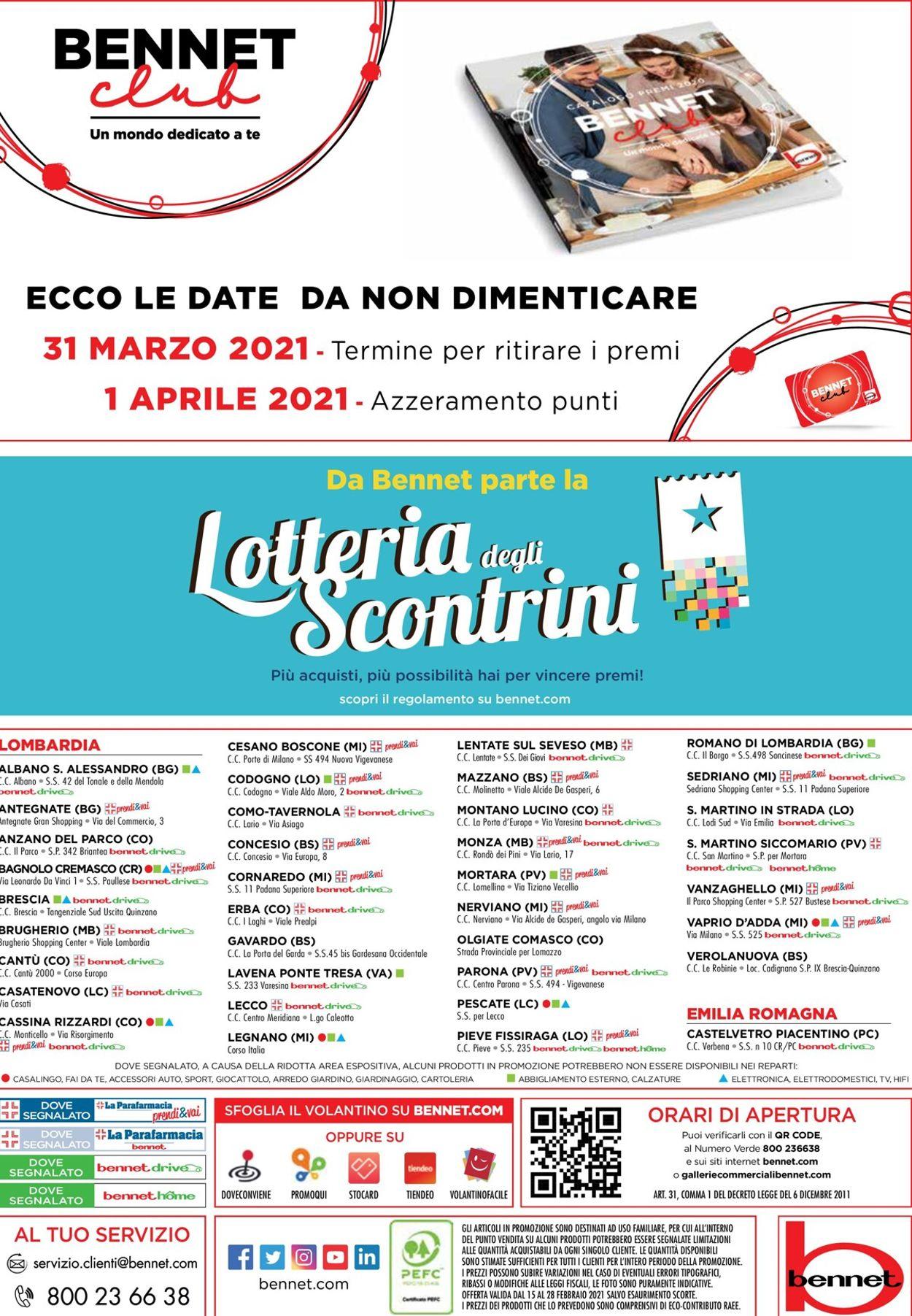 Volantino bennet - Offerte 15/02-28/02/2021 (Pagina 36)