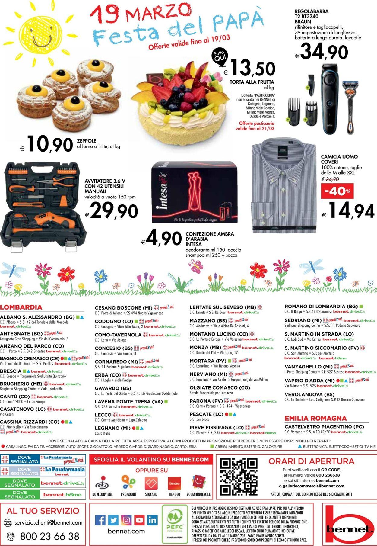 Volantino bennet - Offerte 01/03-14/03/2021 (Pagina 32)