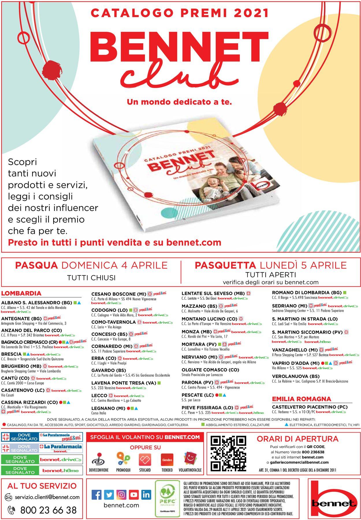 Volantino bennet - Offerte 29/03-11/04/2021 (Pagina 29)