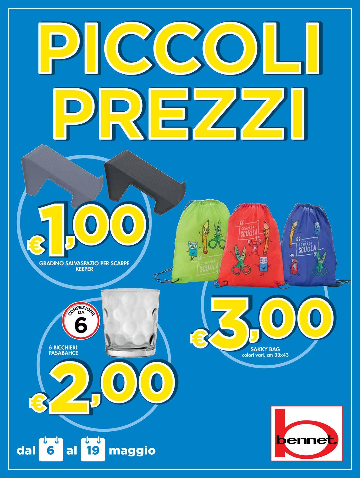 Volantino bennet - Offerte 06/05-19/05/2021