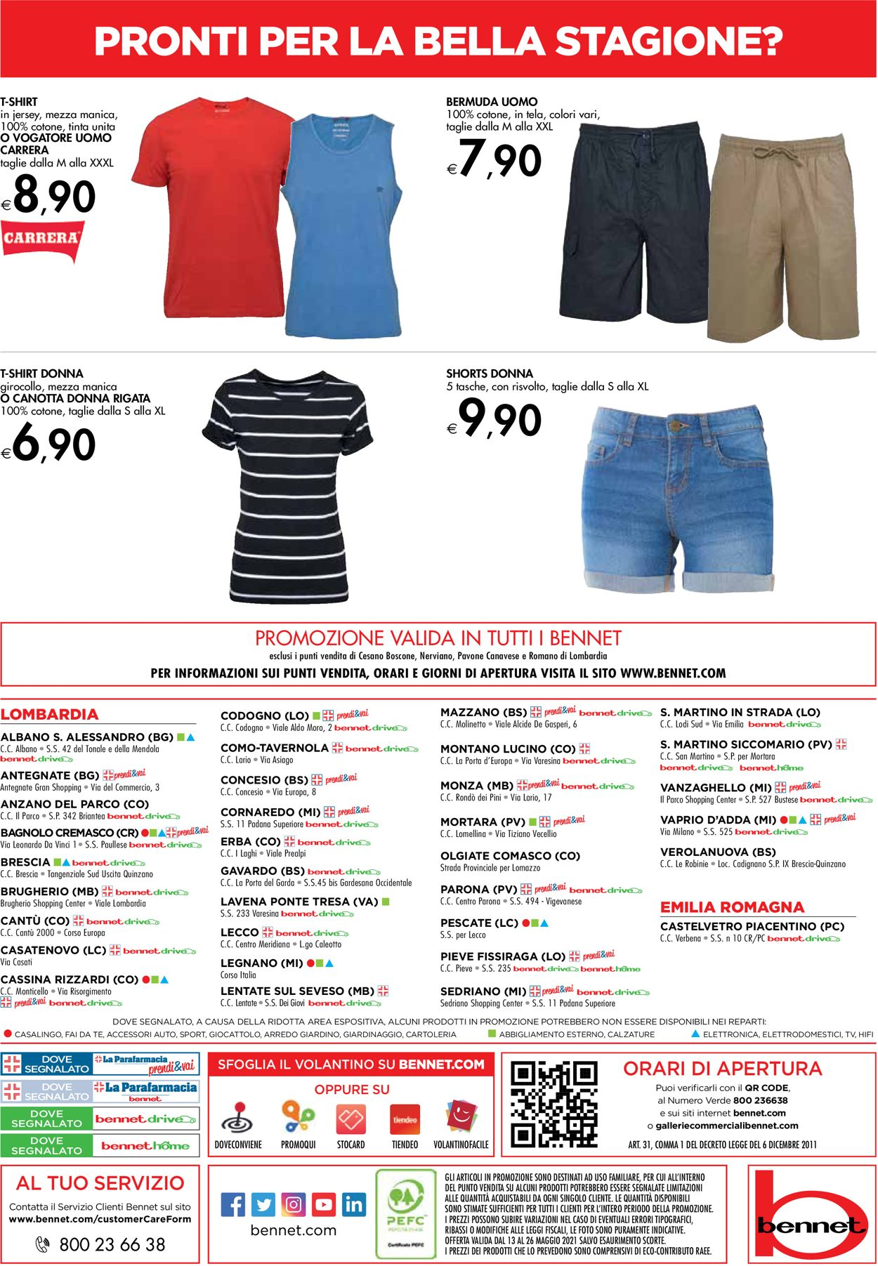 Volantino bennet - Offerte 13/05-26/05/2021 (Pagina 32)