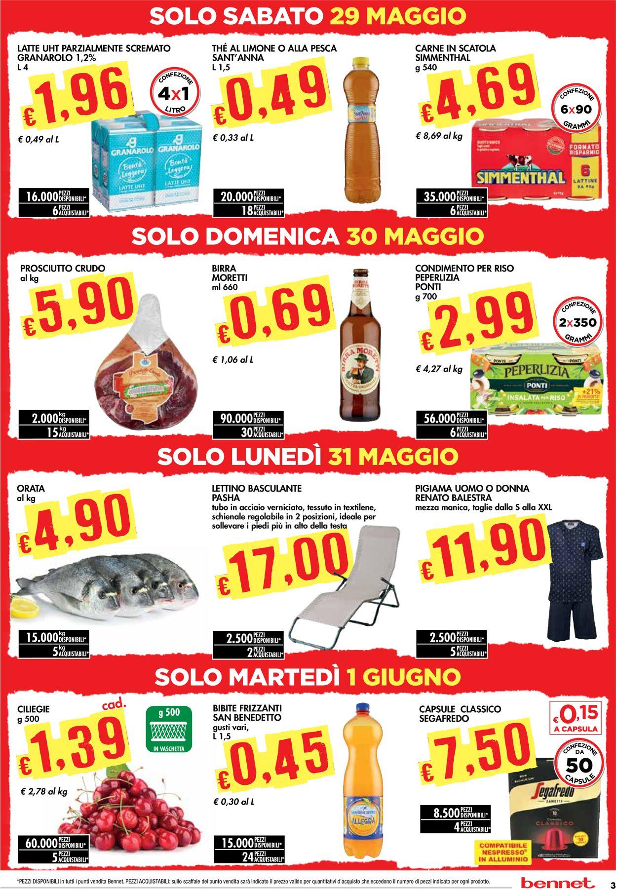 Volantino bennet - Offerte 27/05-09/06/2021 (Pagina 3)