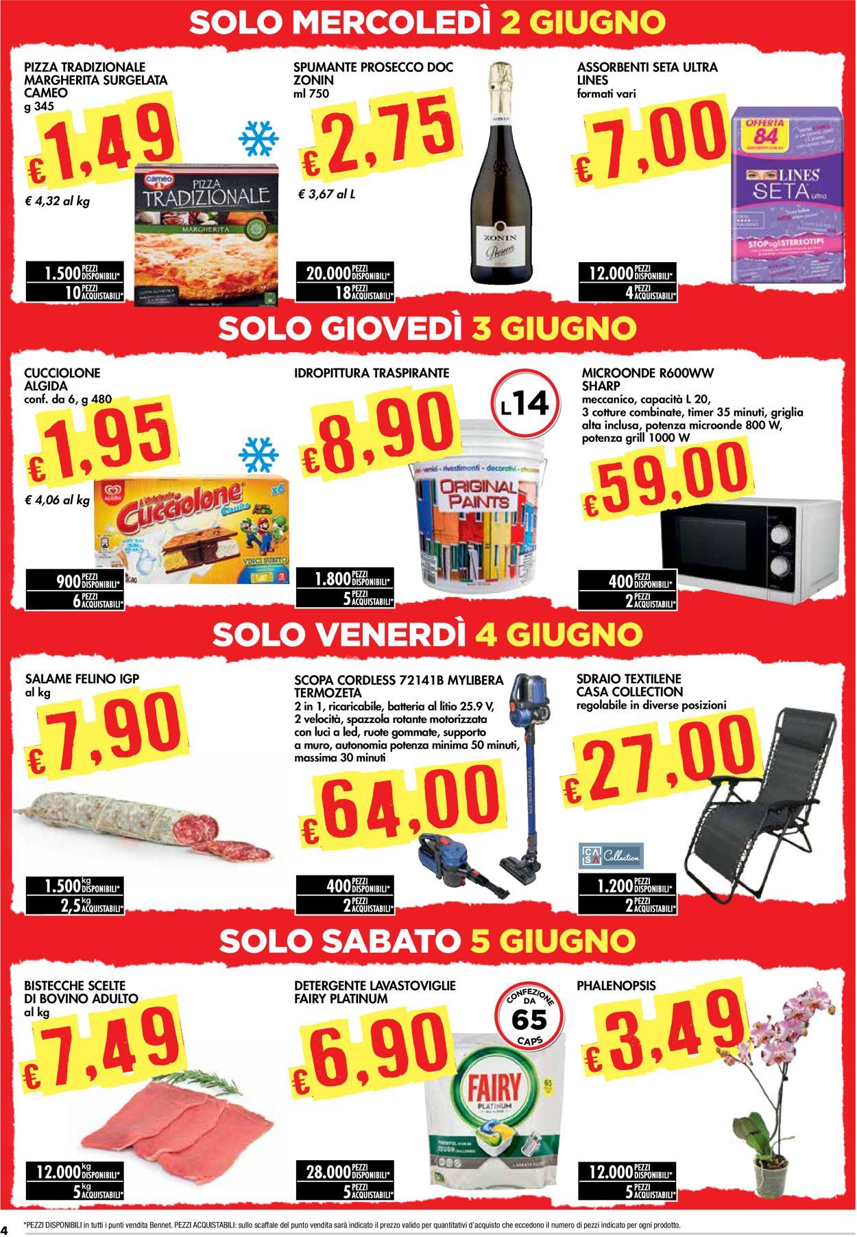 Volantino bennet - Offerte 27/05-09/06/2021 (Pagina 4)
