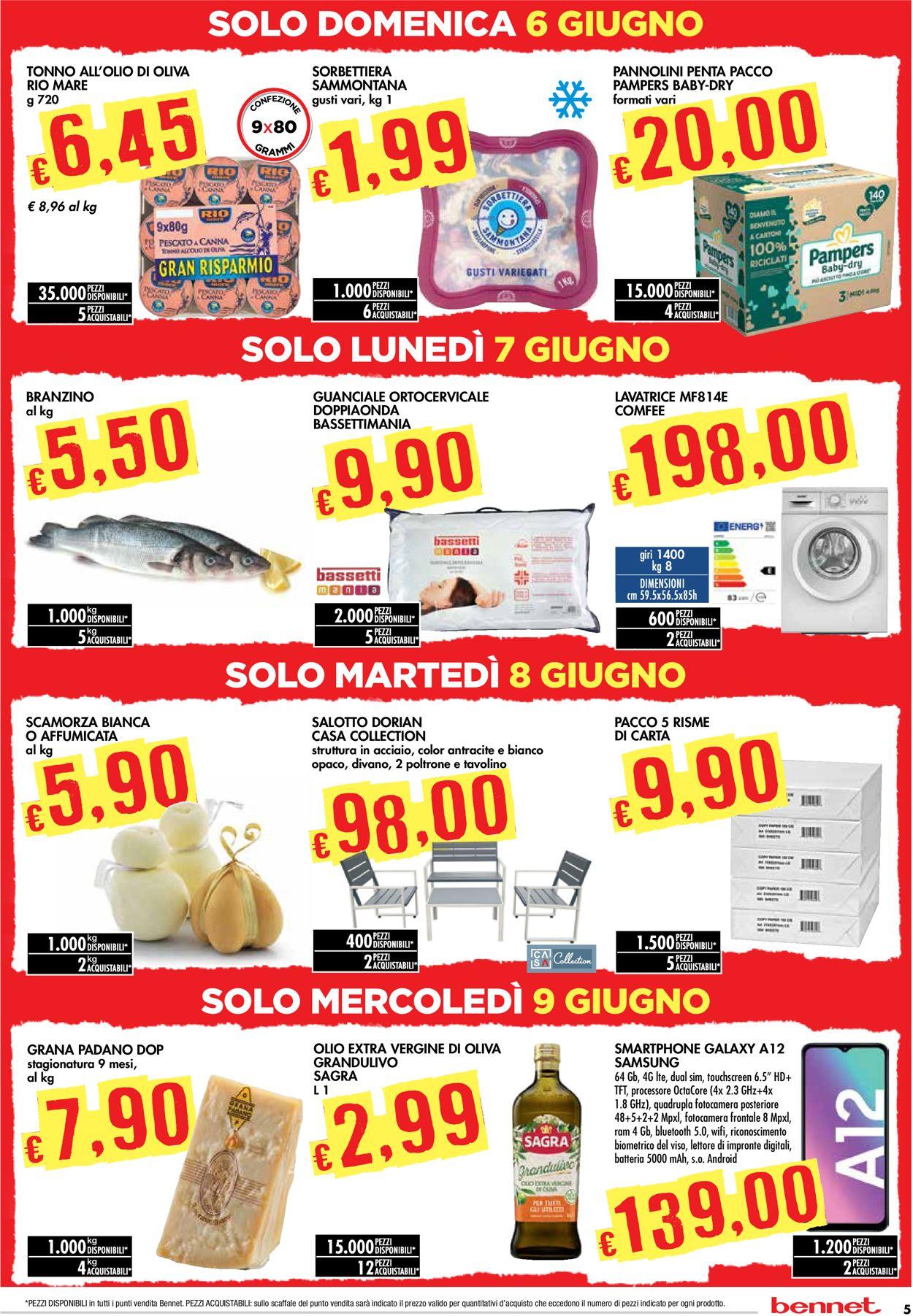Volantino bennet - Offerte 27/05-09/06/2021 (Pagina 5)