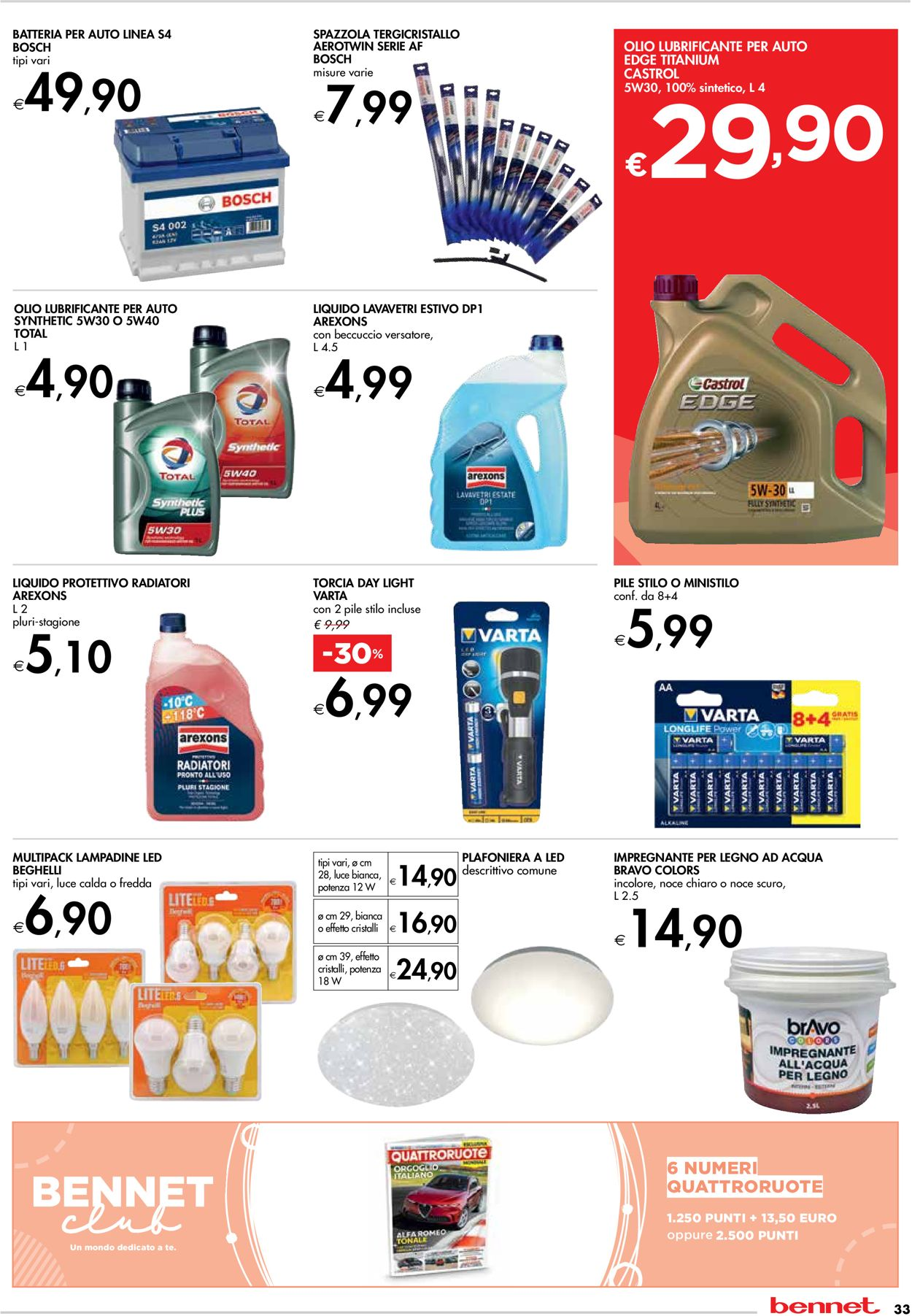 Volantino bennet - Offerte 27/05-09/06/2021 (Pagina 33)
