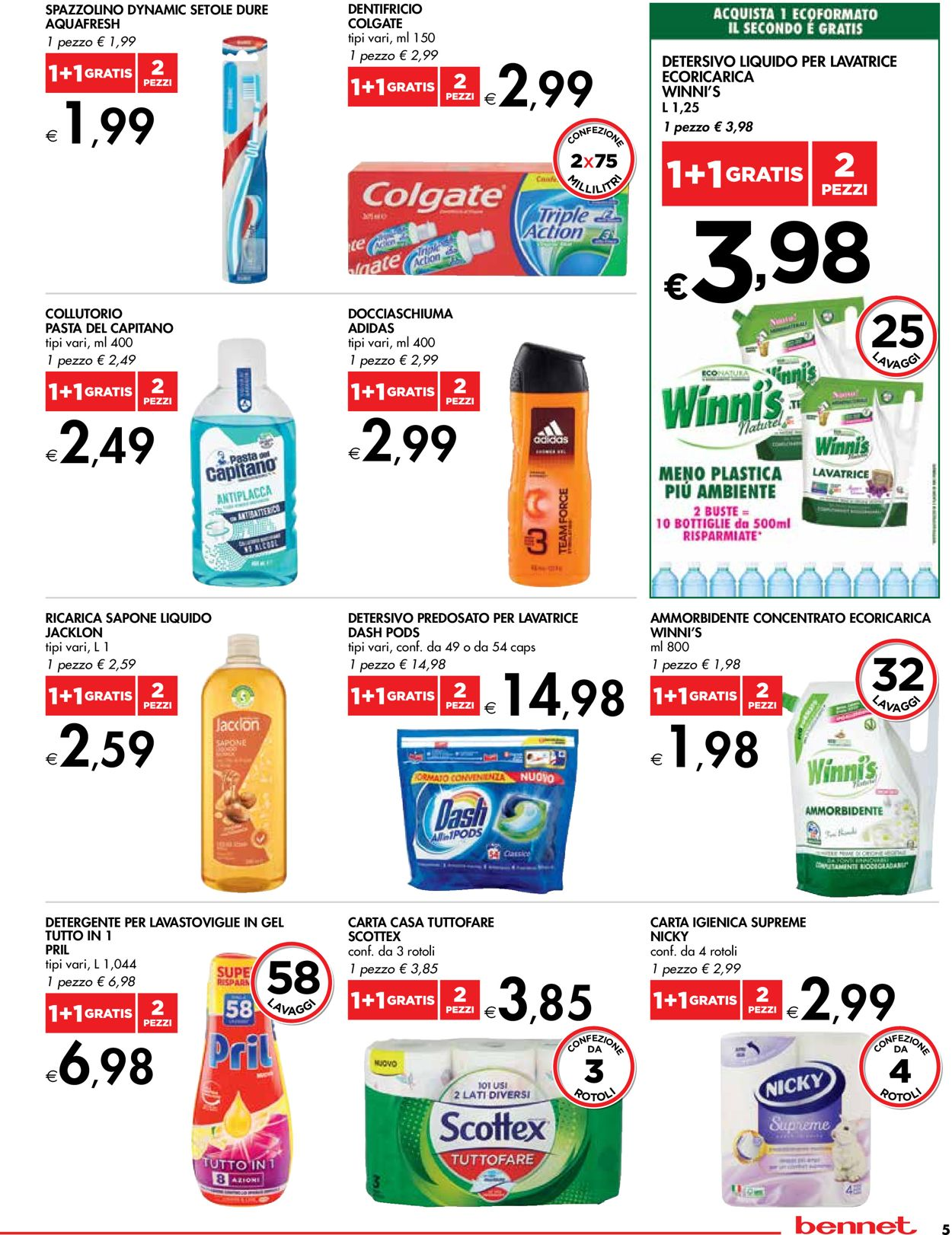 Volantino bennet - Offerte 01/07-14/07/2021 (Pagina 5)