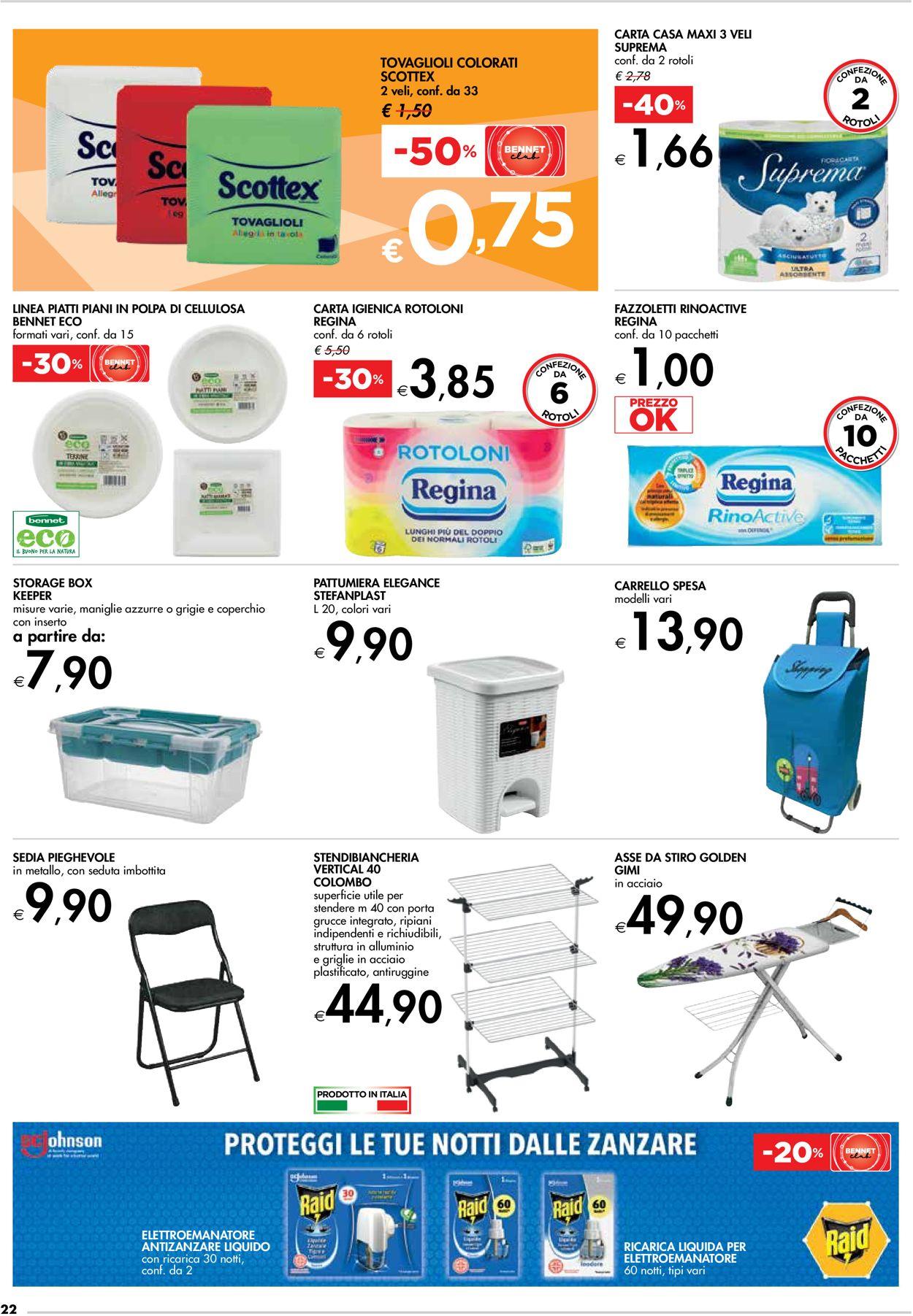 Volantino bennet - Offerte 08/07-21/07/2021 (Pagina 22)