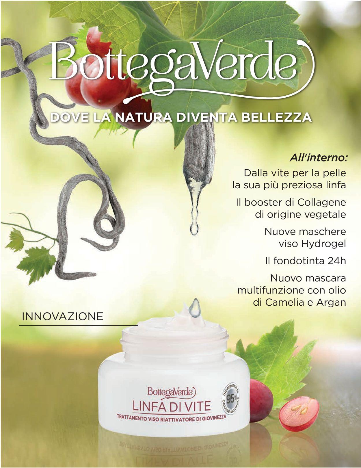 Volantino Bottega Verde - Offerte 21/01-30/04/2020