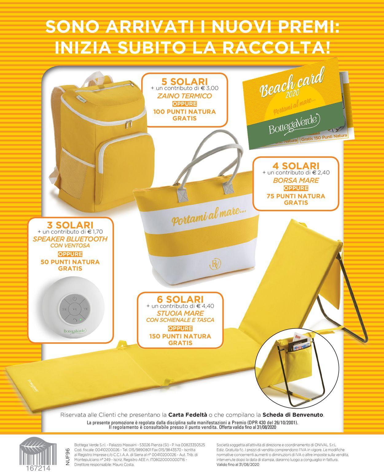 Volantino Bottega Verde - Offerte 05/06-15/07/2020 (Pagina 30)