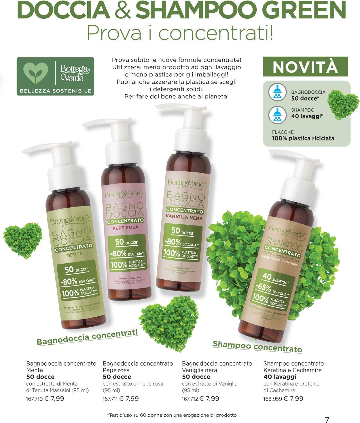 Volantino Bottega Verde - Offerte 26/04-31/08/2021 (Pagina 7)