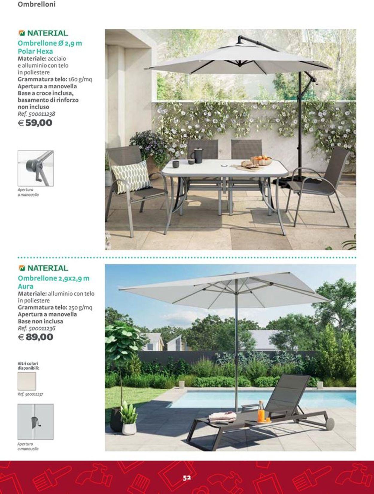 Volantino Bricocenter - Offerte 06/03-31/12/2020 (Pagina 52)