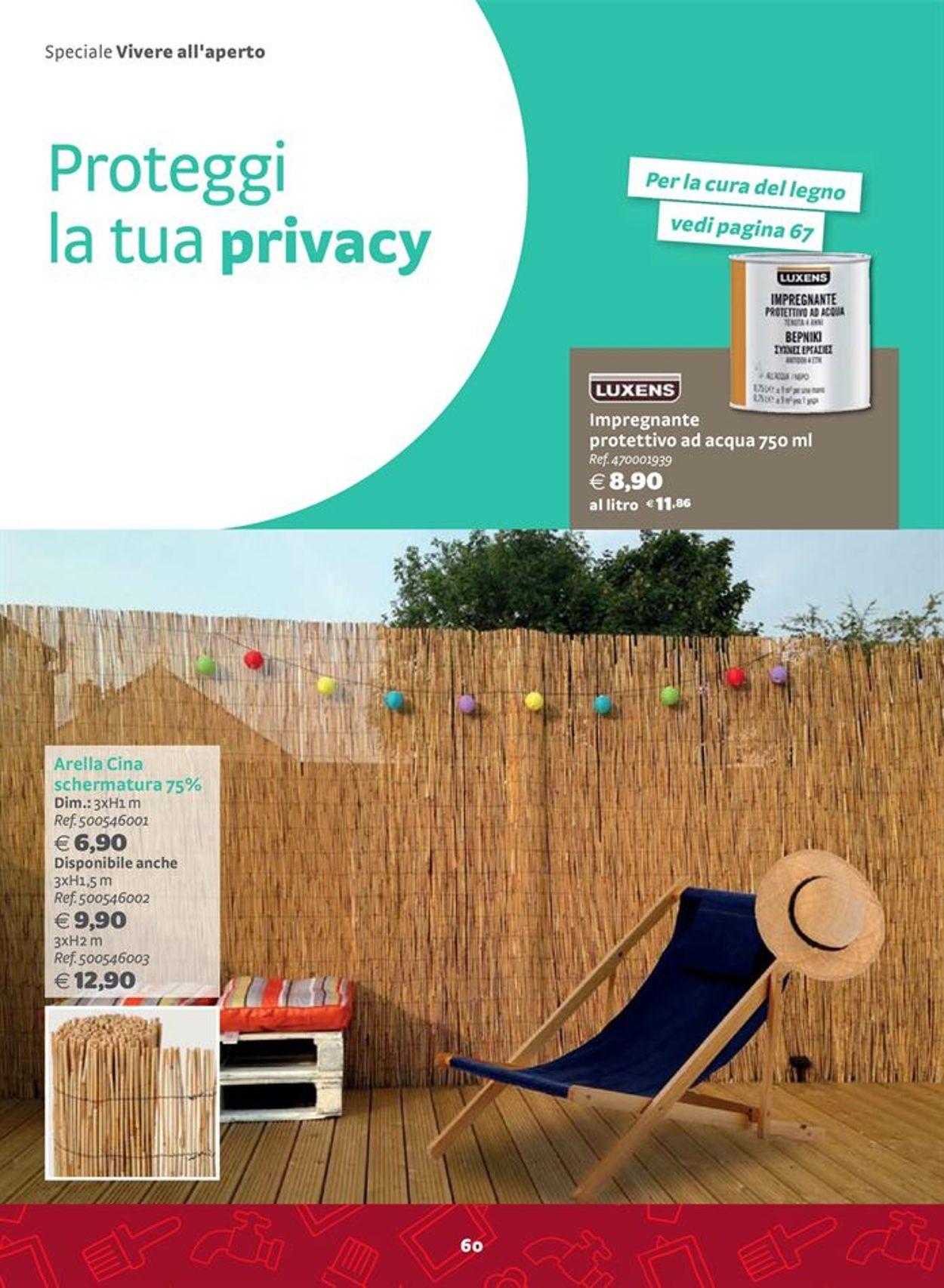 Volantino Bricocenter - Offerte 06/03-31/12/2020 (Pagina 60)