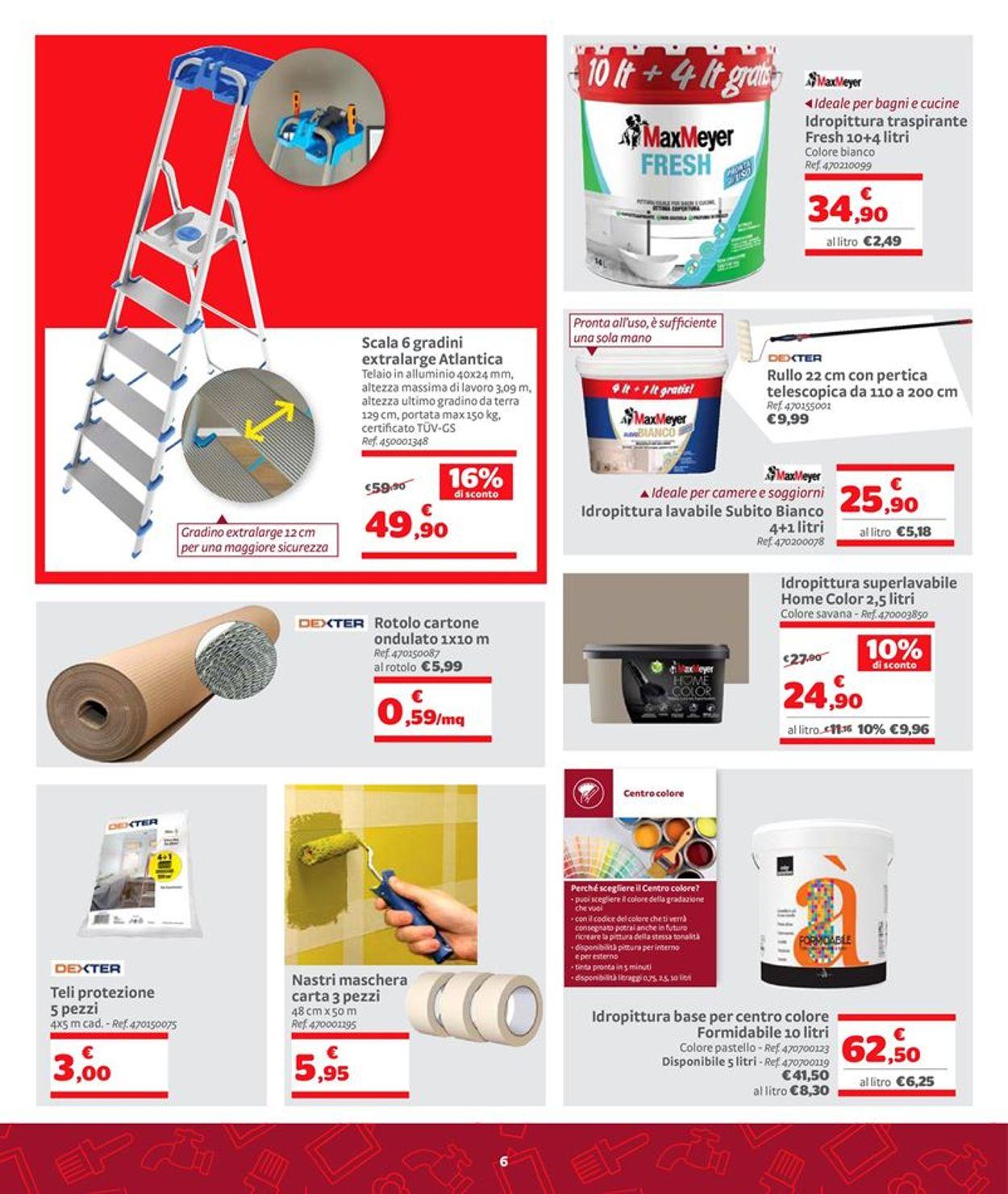 Volantino Bricocenter - Offerte 28/09-01/11/2020 (Pagina 6)