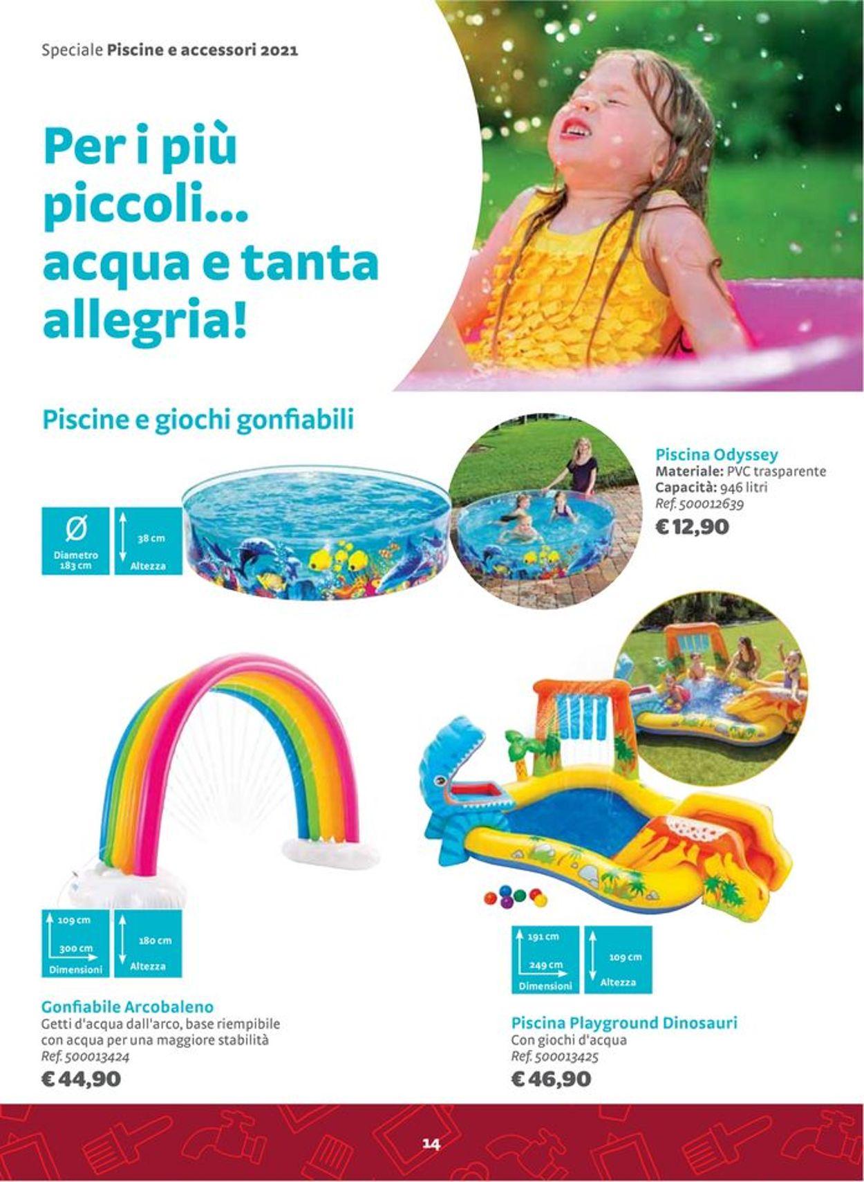 Volantino Bricocenter - Offerte 23/04-30/09/2021 (Pagina 14)