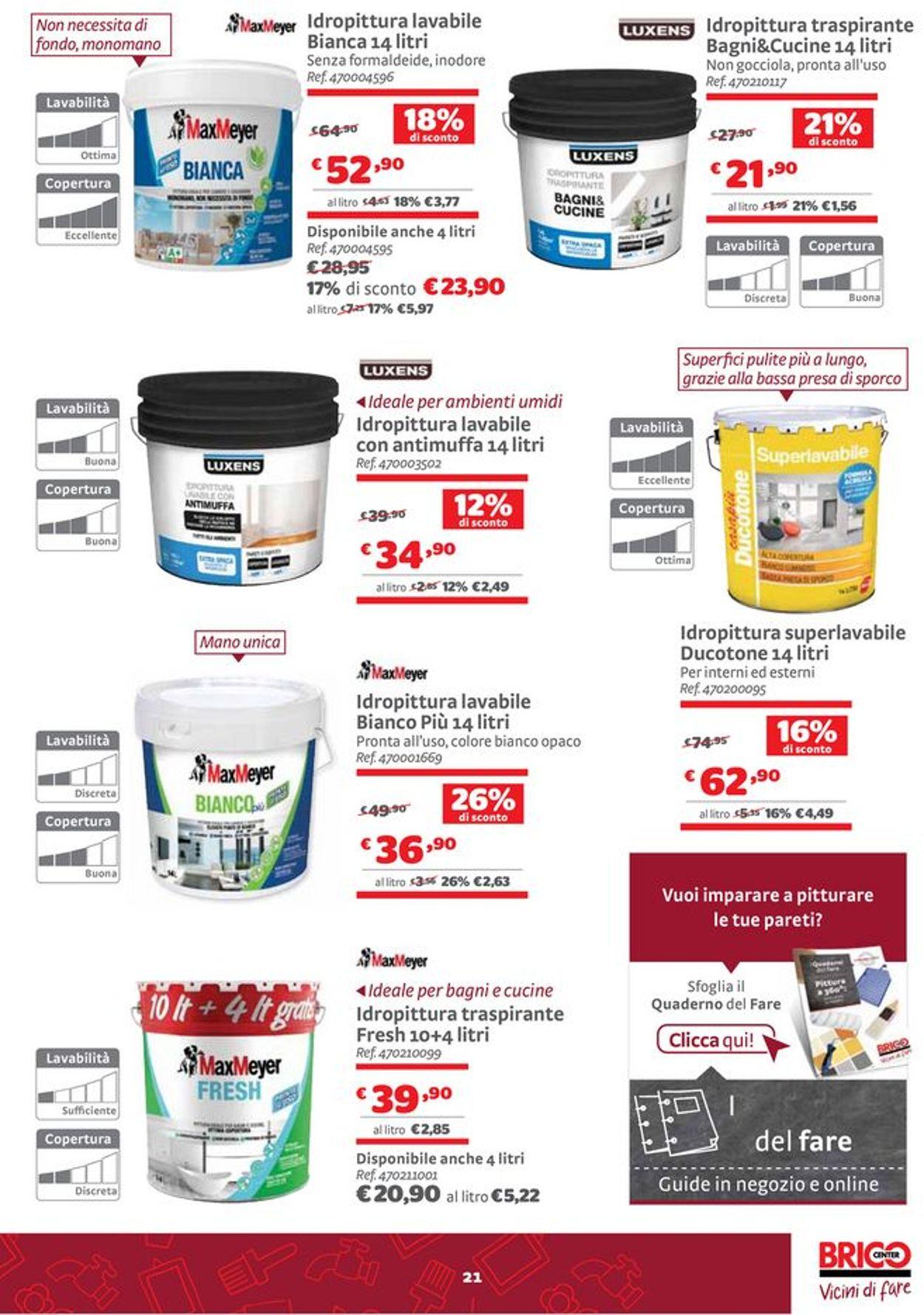 Volantino Bricocenter - Offerte 24/06-25/07/2021 (Pagina 21)