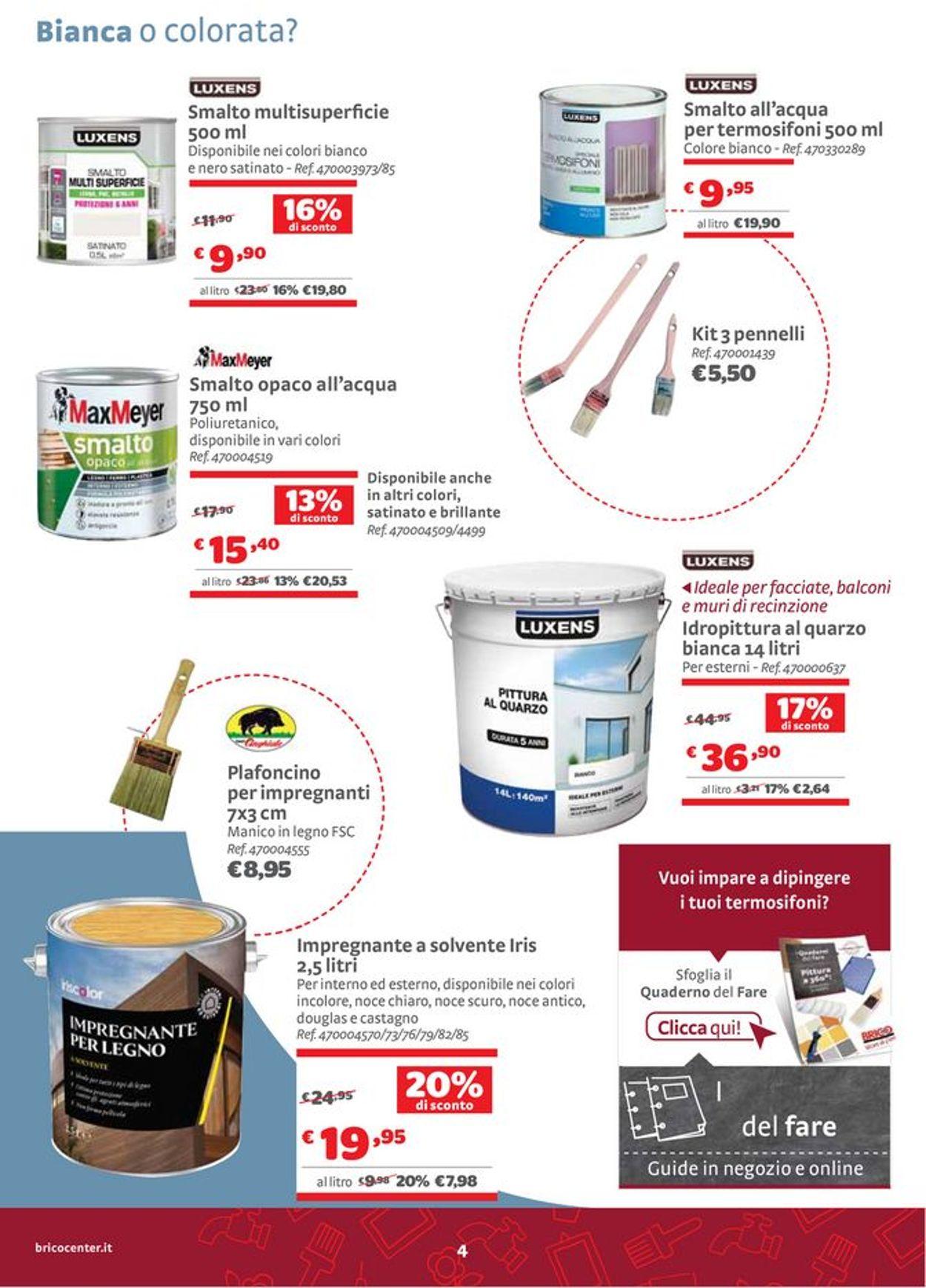 Volantino Bricocenter - Offerte 29/07-22/08/2021 (Pagina 4)