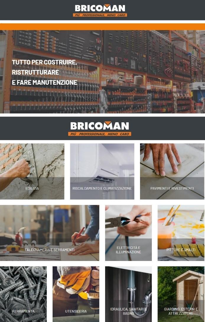 Volantino Bricoman - Offerte 07/01-20/01/2020