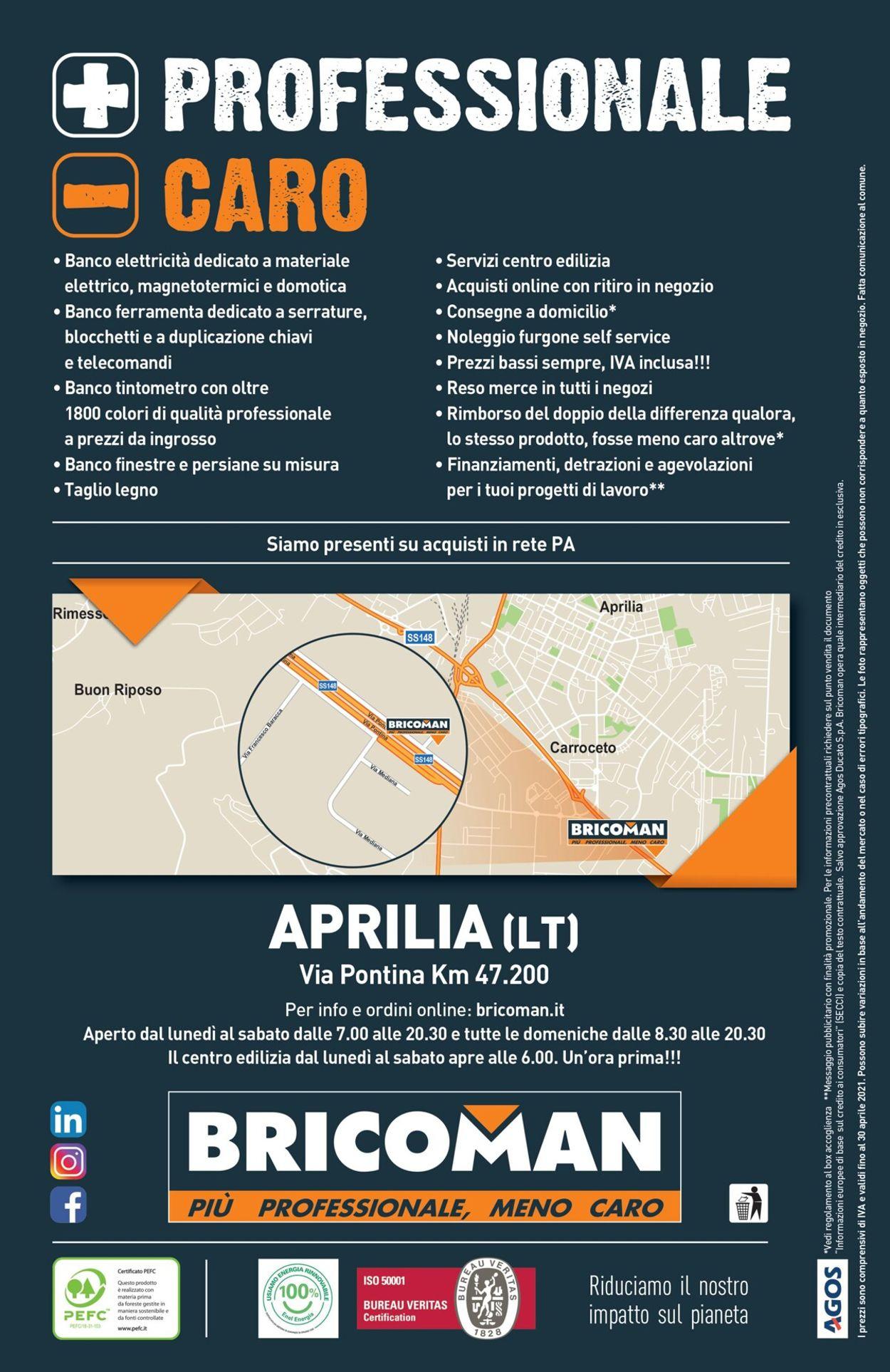 Volantino Bricoman - Offerte 10/03-28/04/2021 (Pagina 452)