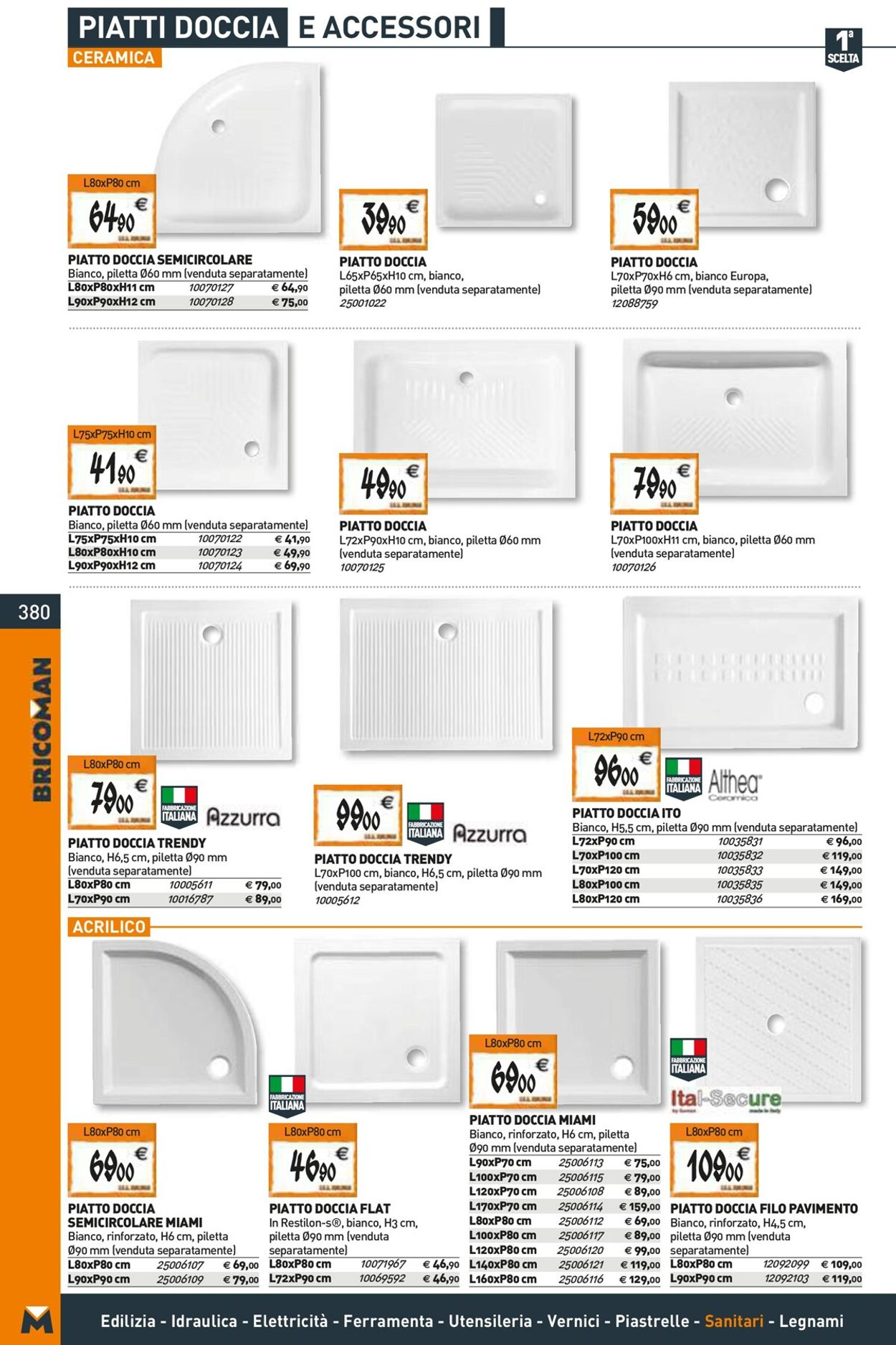 Volantino Bricoman - Offerte 14/04-14/10/2021 (Pagina 380)