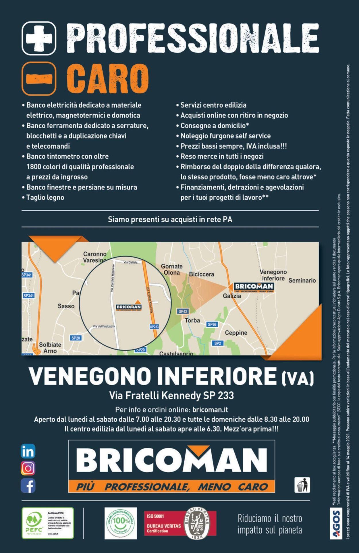 Volantino Bricoman - Offerte 14/04-14/10/2021 (Pagina 452)