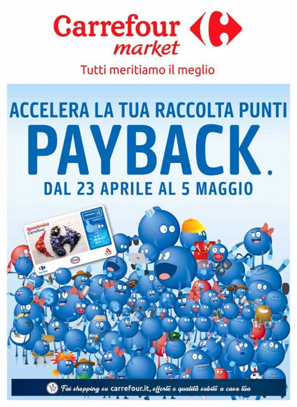 Volantino Carrefour - Offerte 23/04-05/05/2019