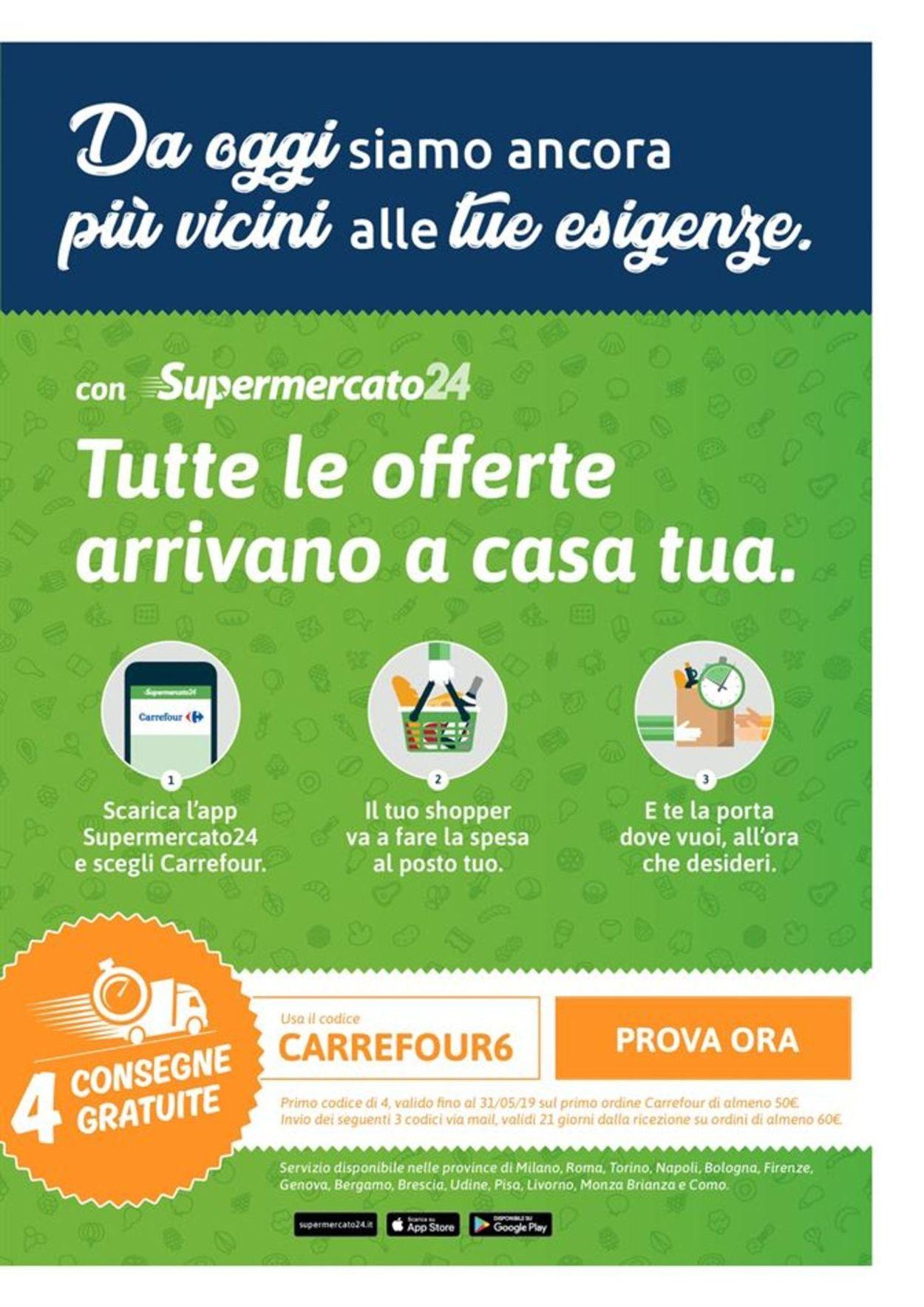 Volantino Carrefour - Offerte 23/04-05/05/2019 (Pagina 14)
