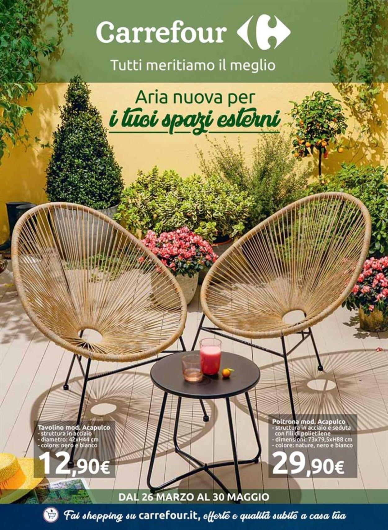 Volantino Carrefour - Offerte 26/03-30/05/2019