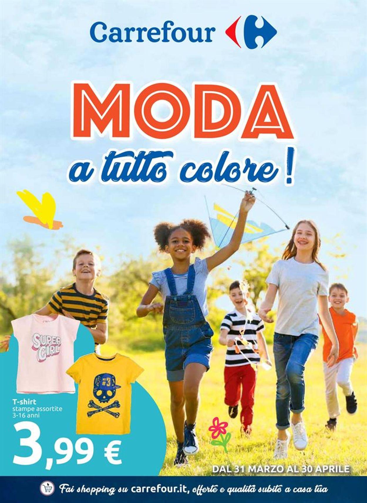 Volantino Carrefour - Offerte 31/03-30/04/2019